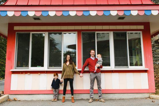 Glen Echo Park Family Photos