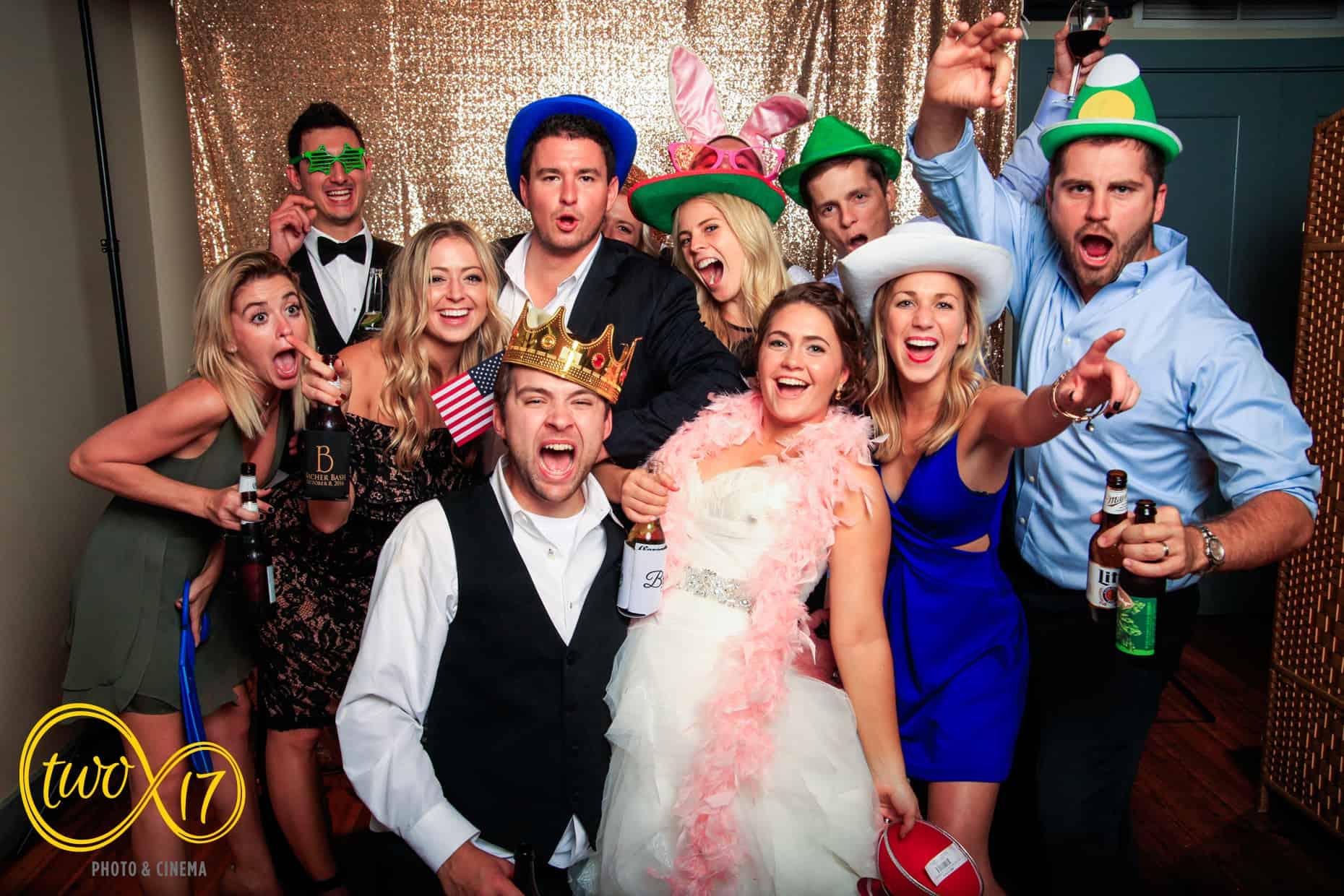 Philadelphia Wedding Photo Booth Rental