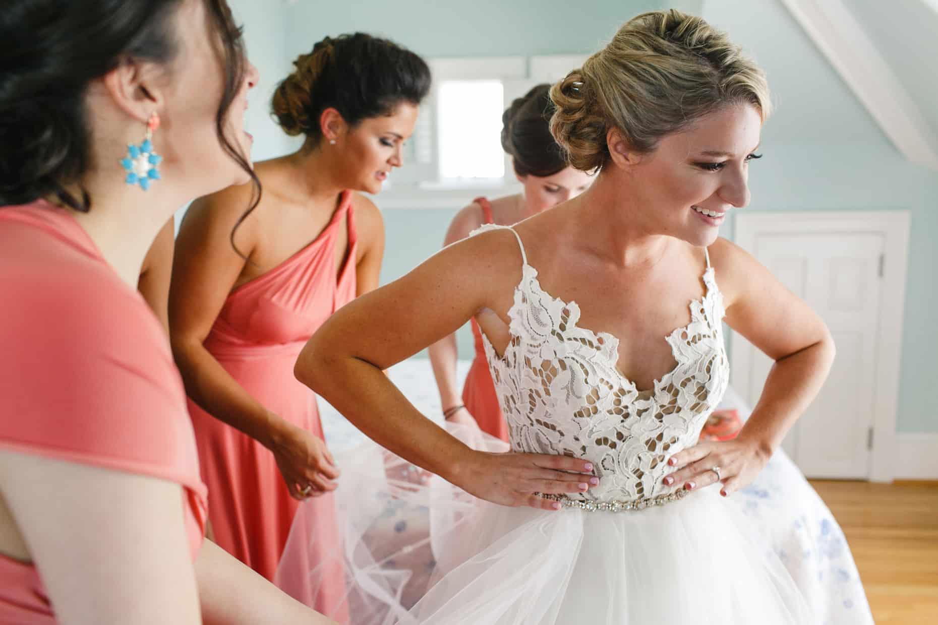 Jersey Shore Wedding Preparation