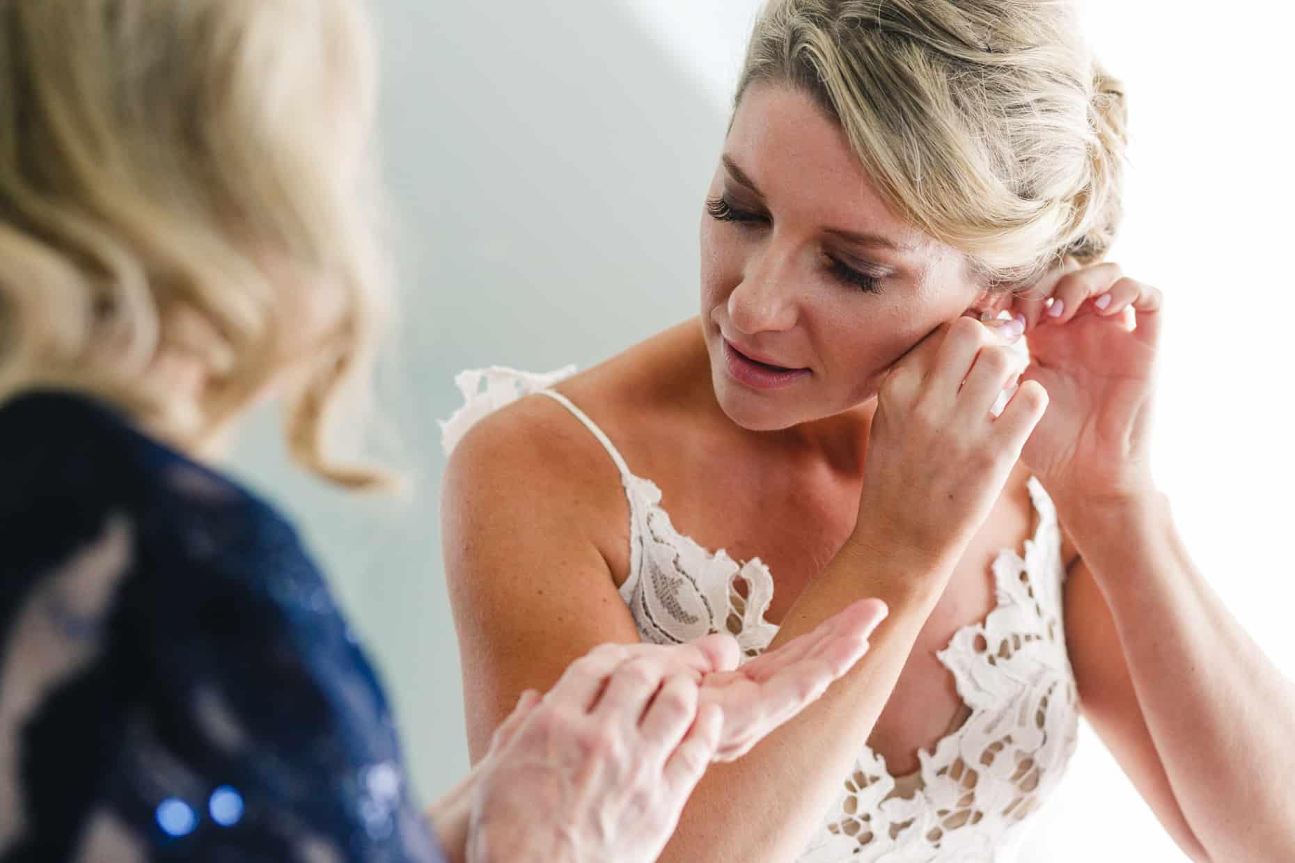 Jersey Shore Wedding Bride