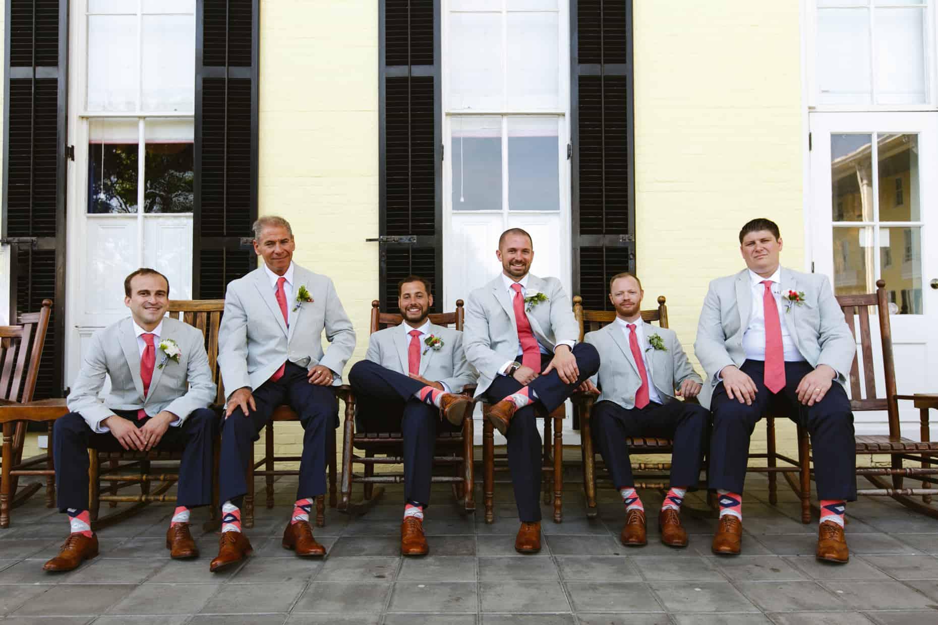 Cape May Wedding Groomsmen