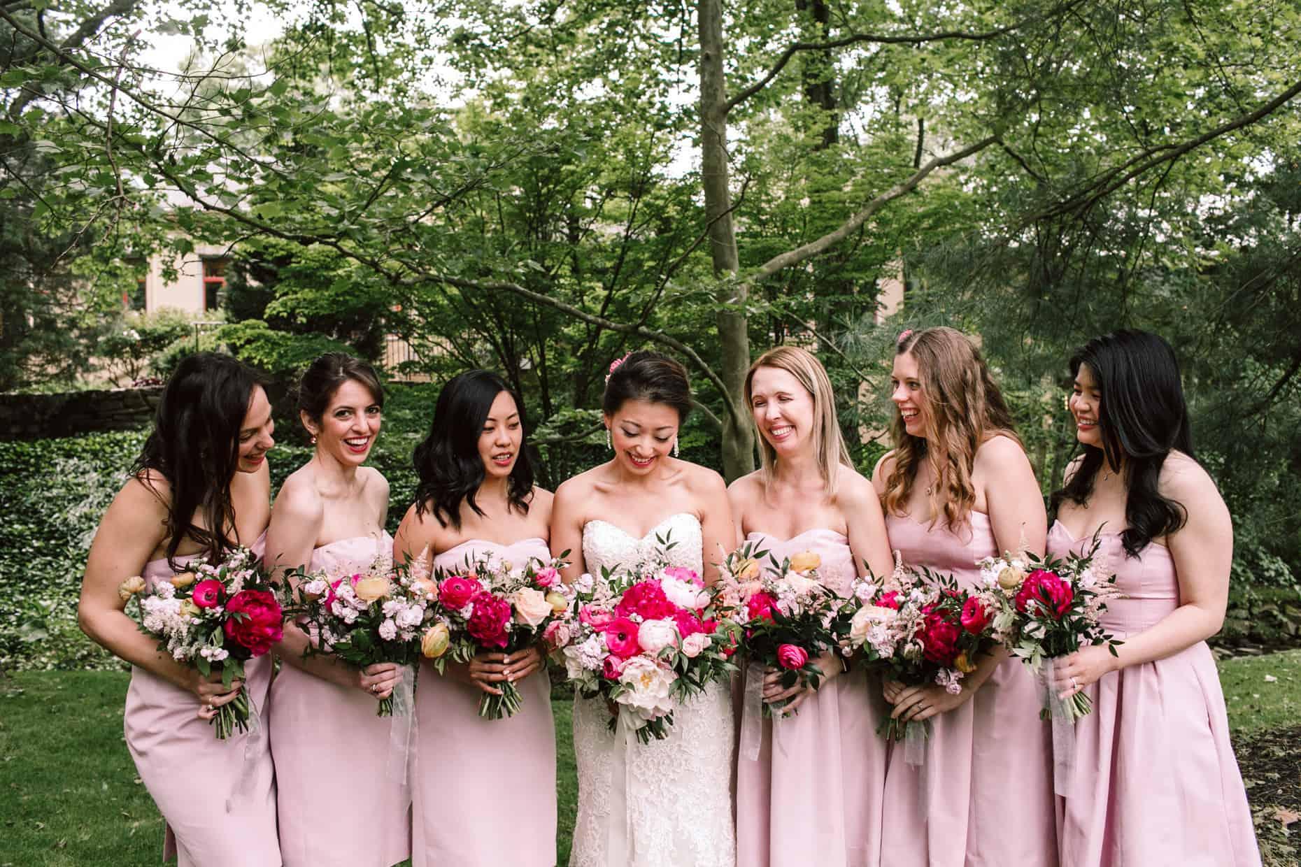 Radnor Wedding Bridesmaids