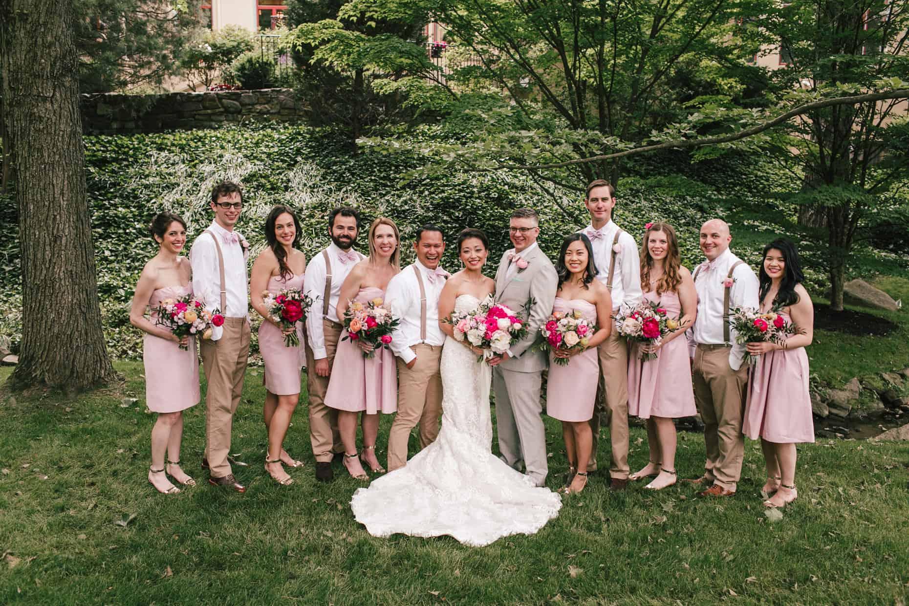 Radnor Wedding Bridal Party