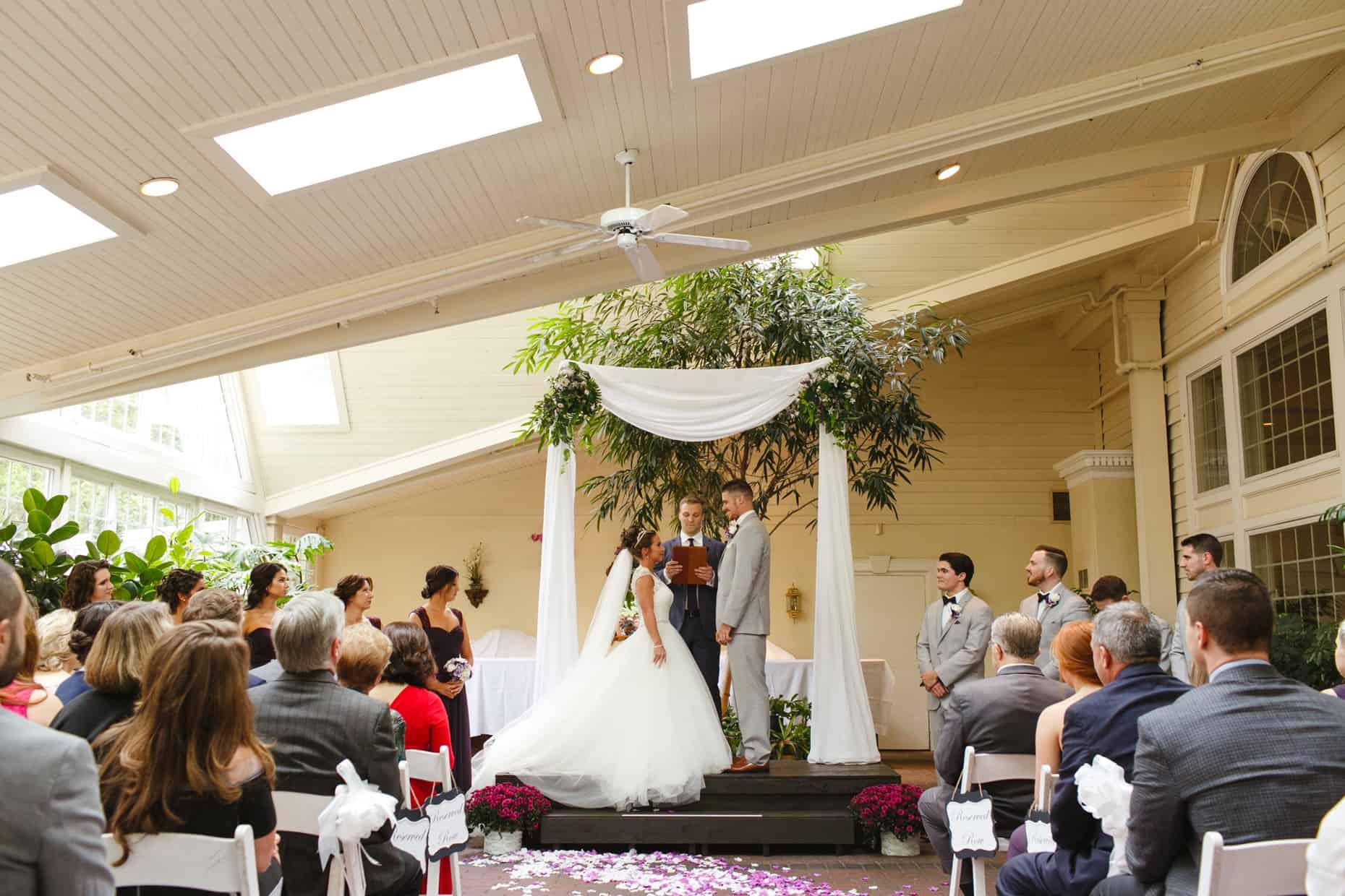 Mendenhall Inn Wedding Photo