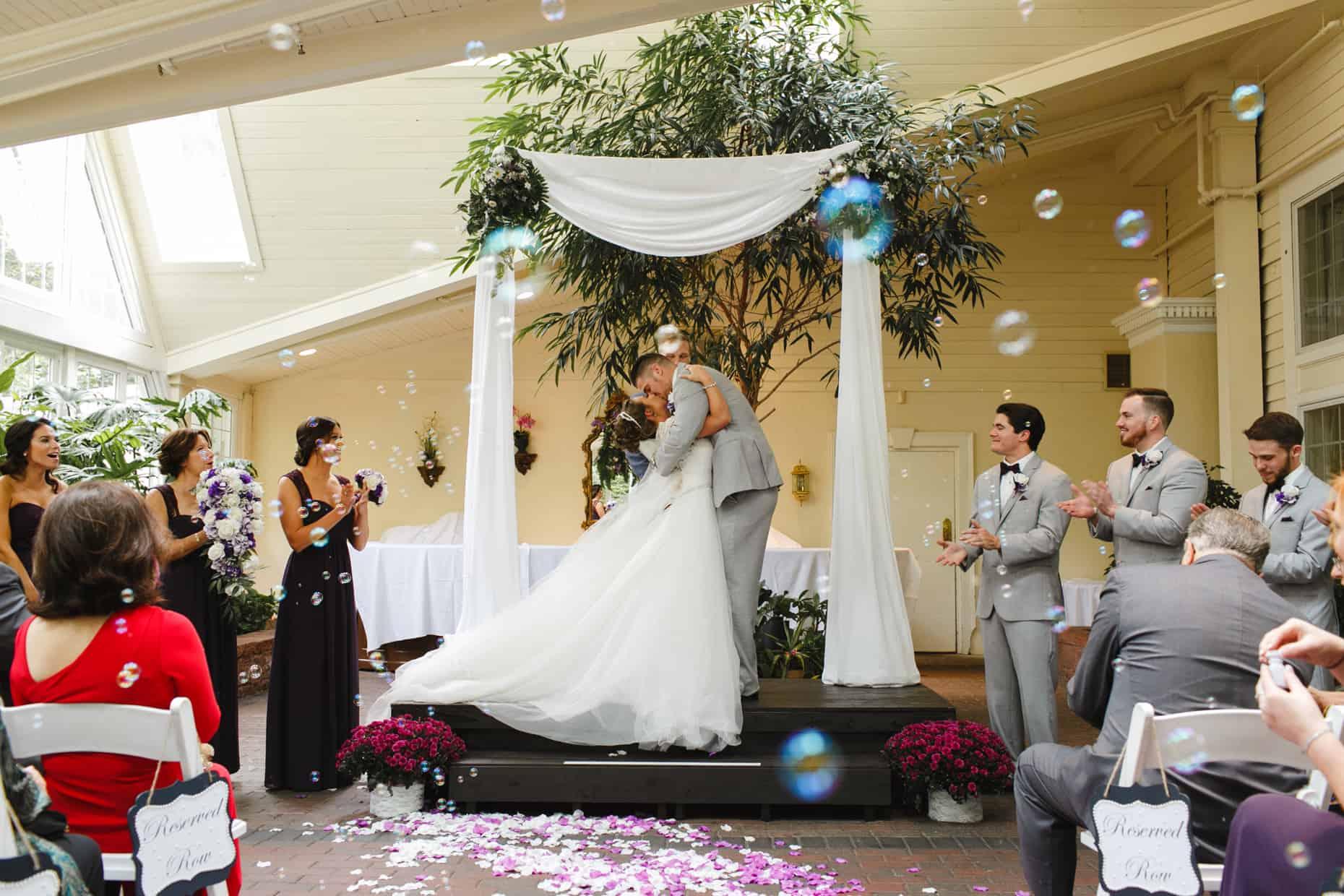 Wedding Photography Mendenhall Inn