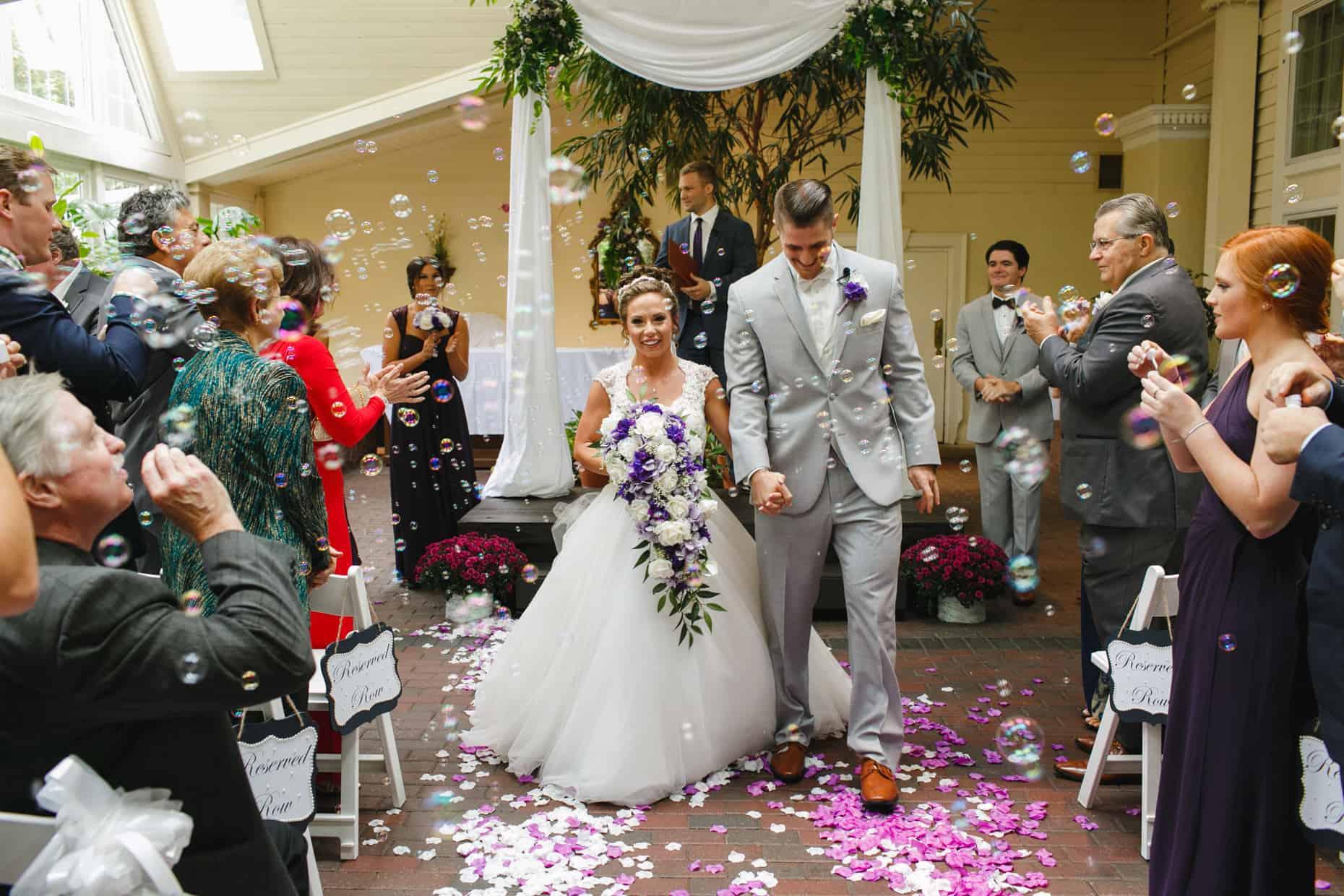 Wedding Photographer Mendenhall Inn