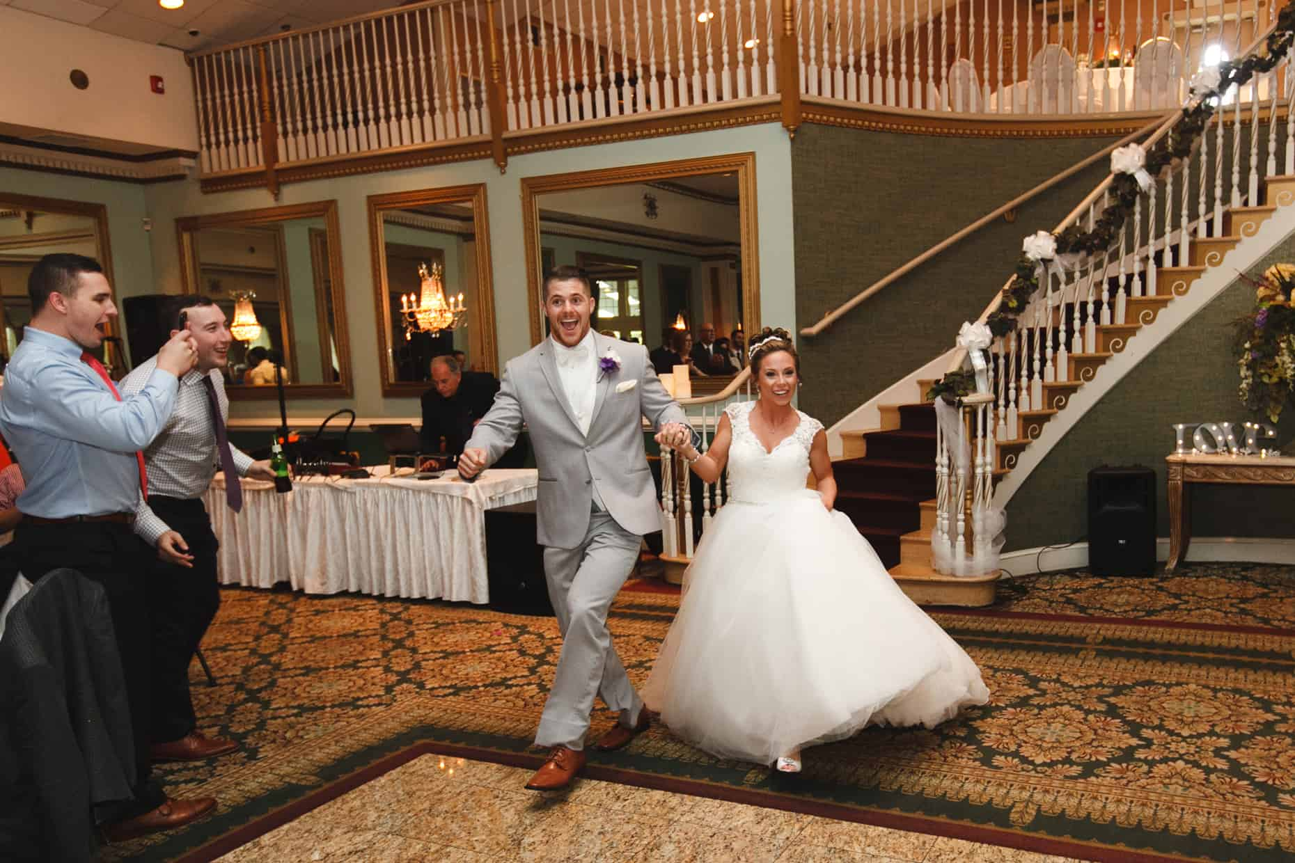 Wedding Picture Mendenhall Inn