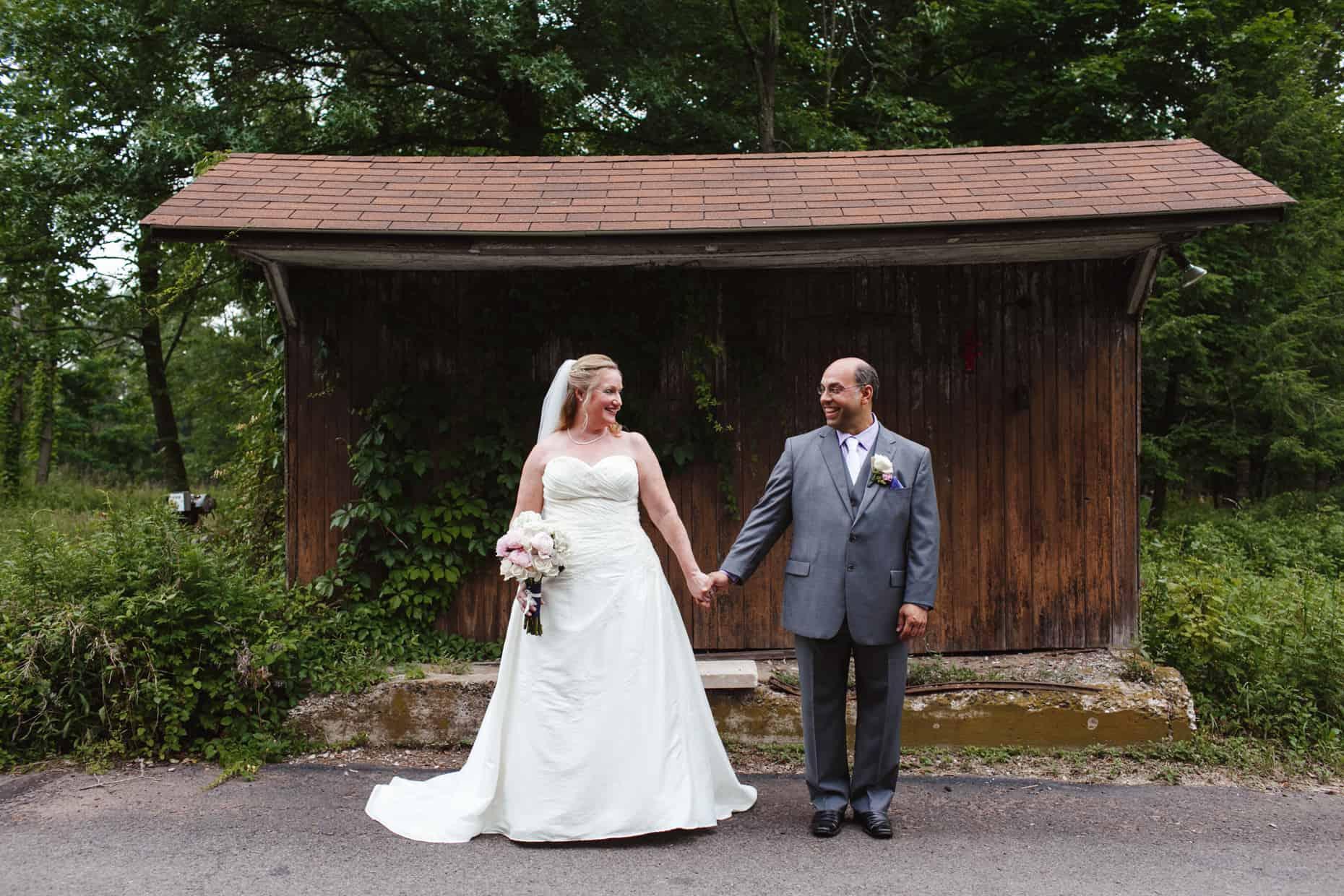 Wedding Picture Private Farm