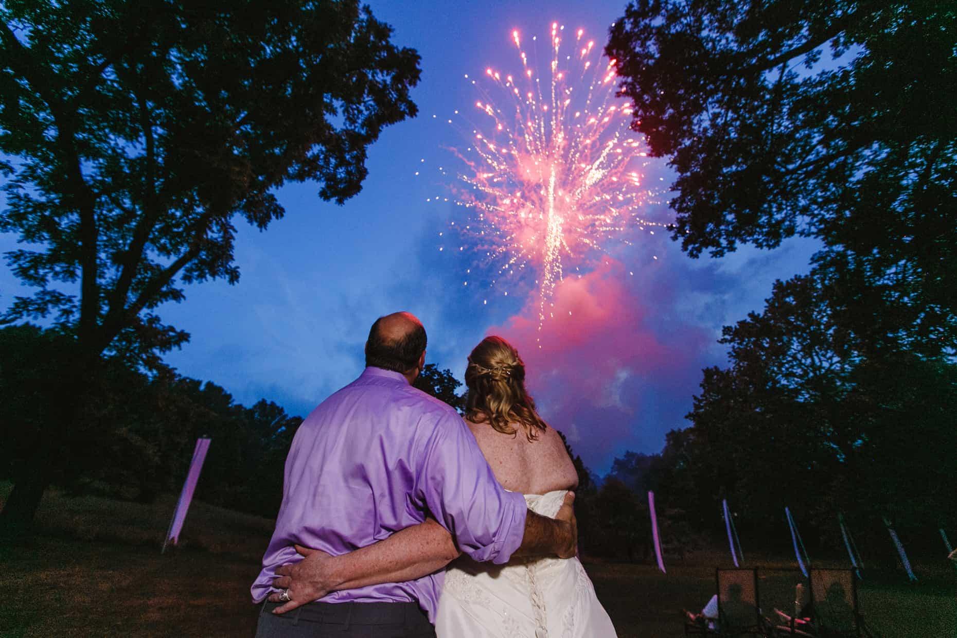 Rustic Outdoor Wedding Photos