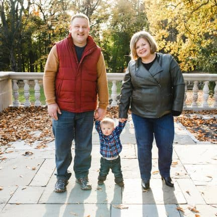 Fall Family Photographer Willow Grove
