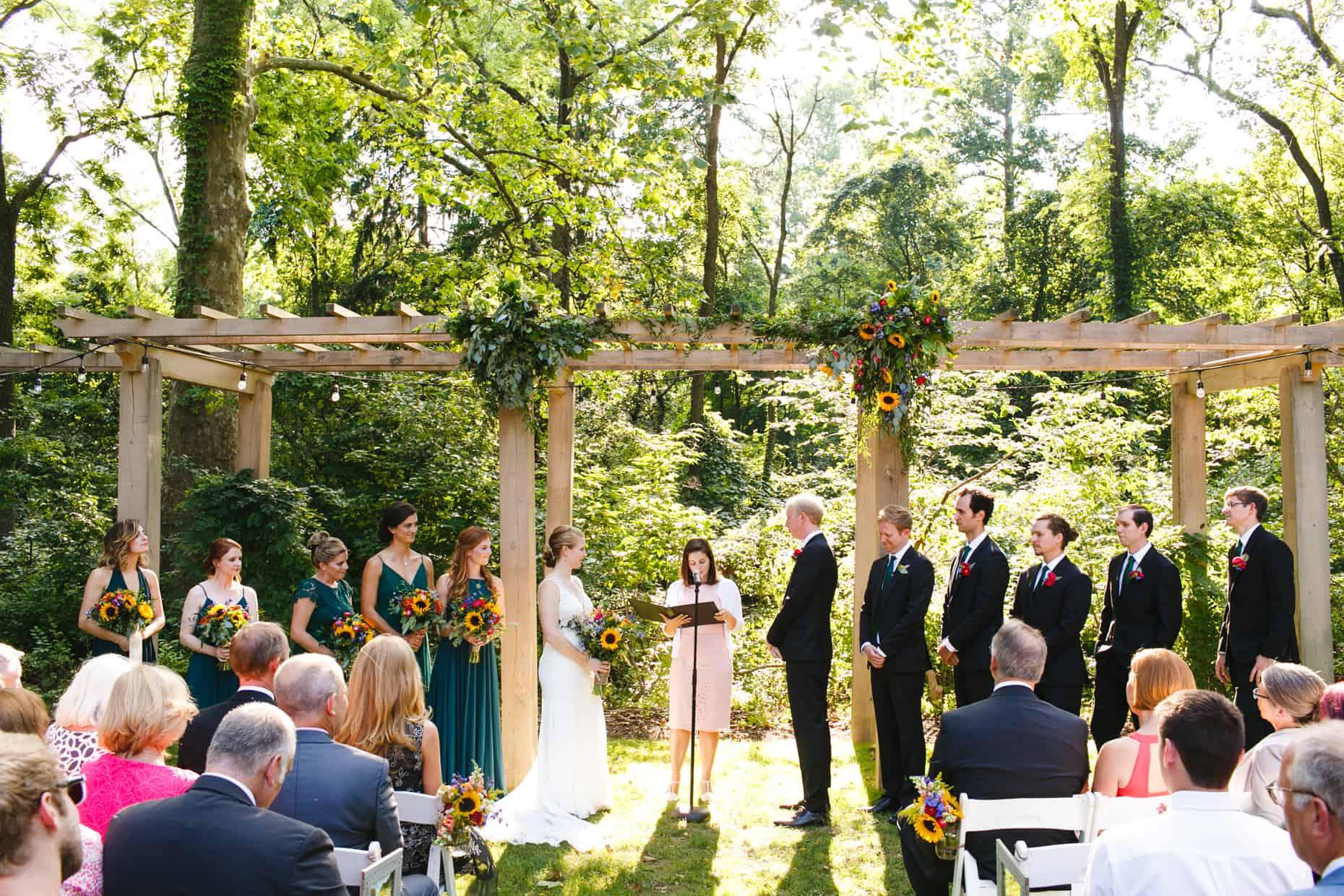 Chester County Wedding Reception