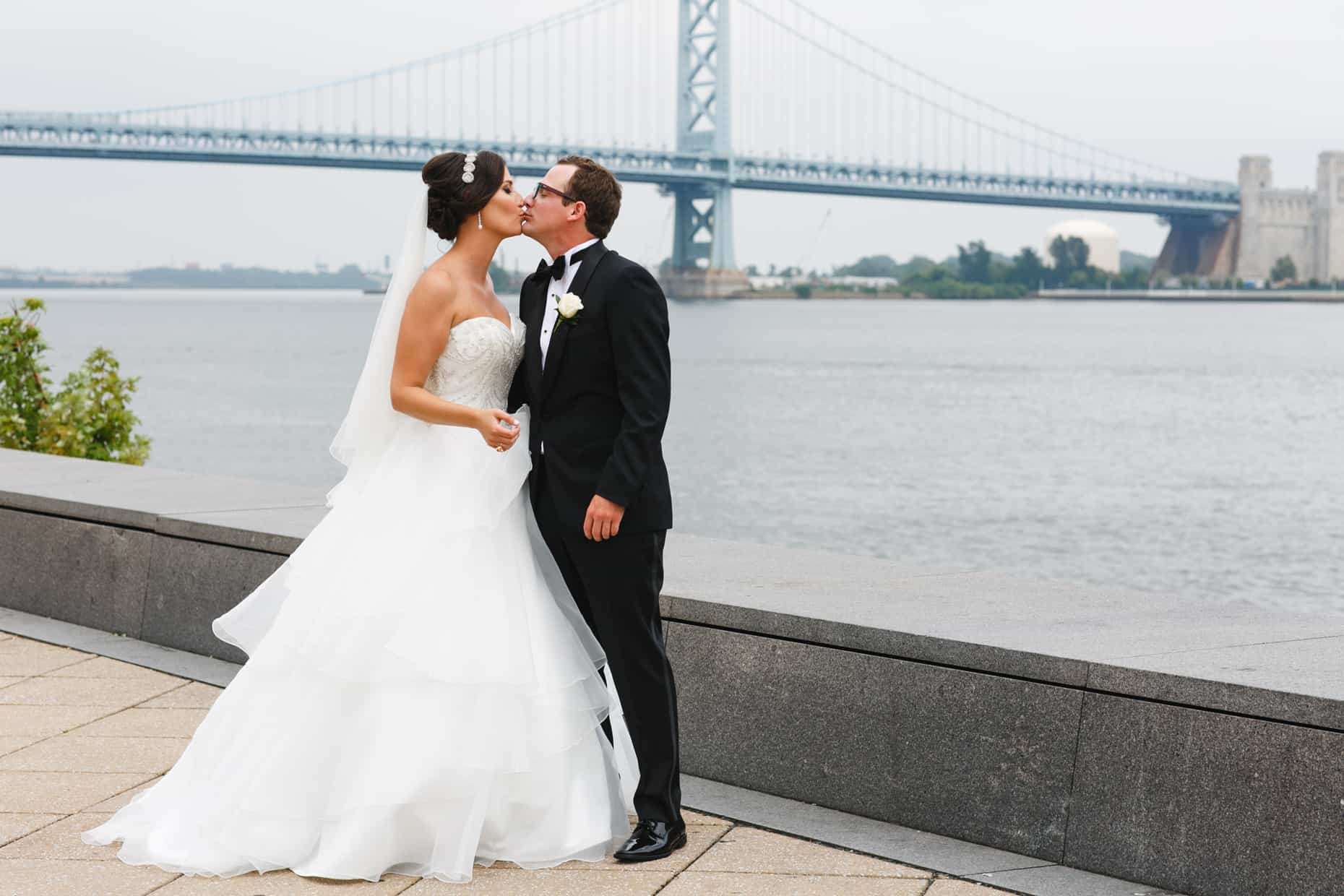 Old City Philadelphia Wedding Photo