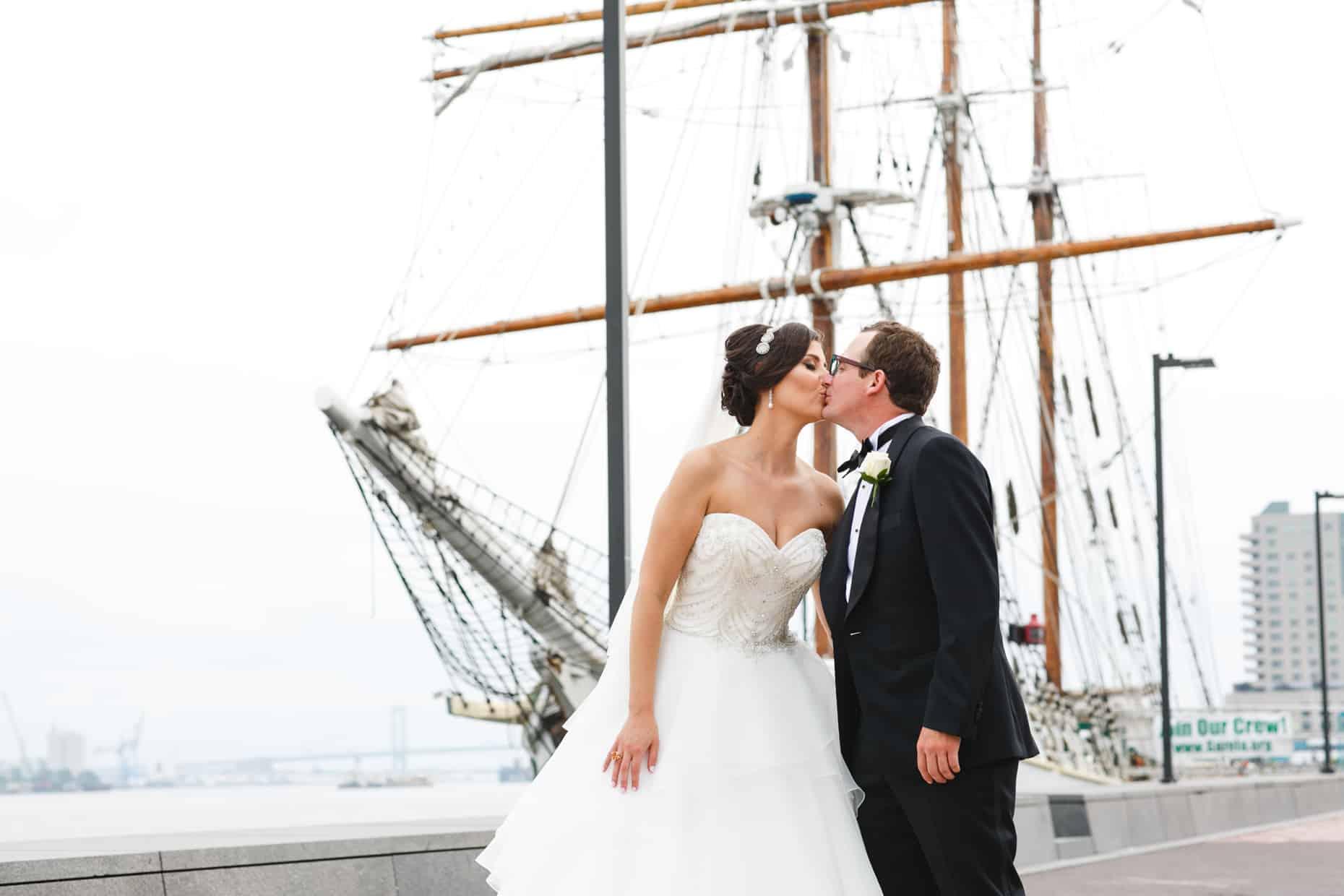 Old City Philadelphia Wedding Picture