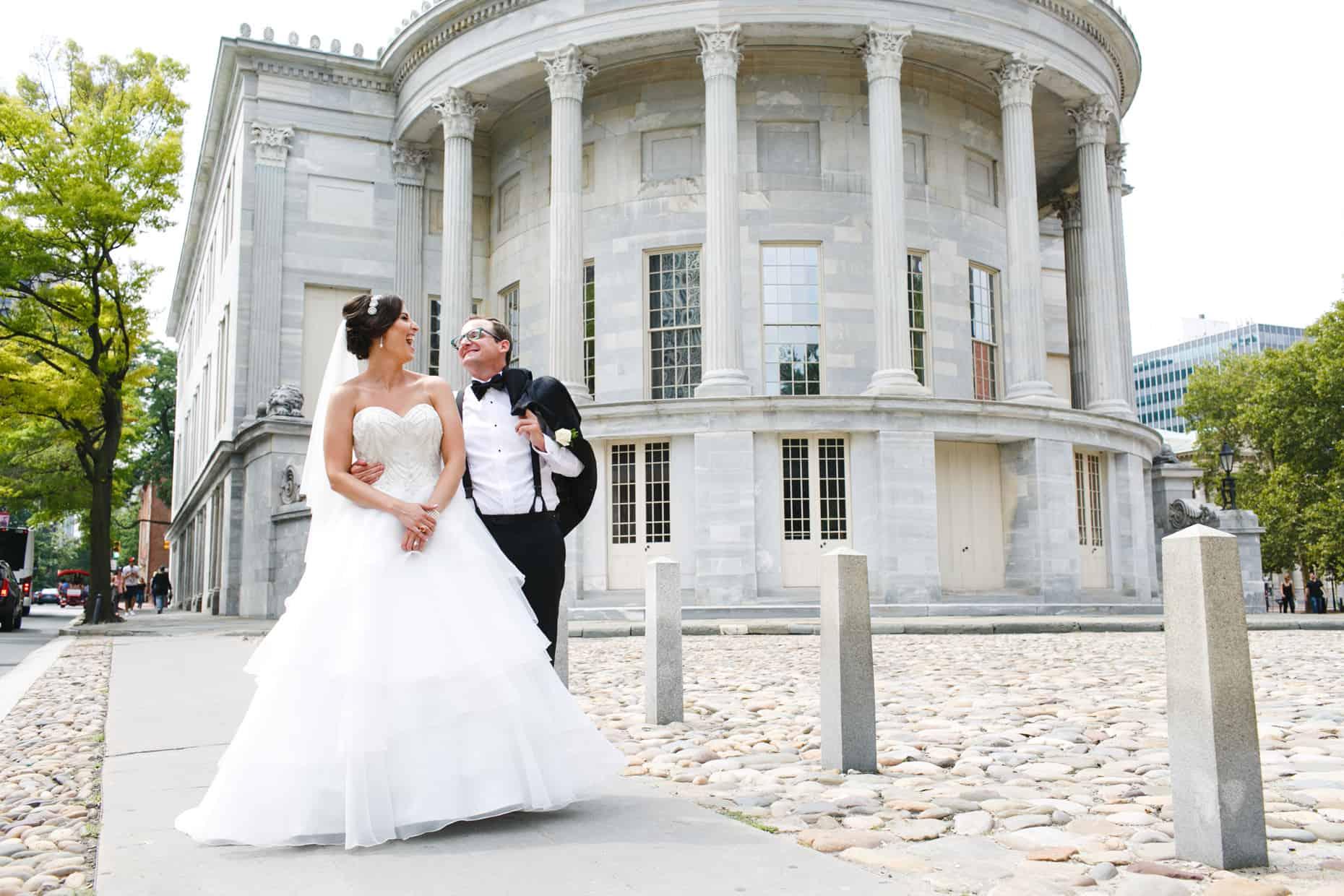 Old City Philadelphia Wedding Reception