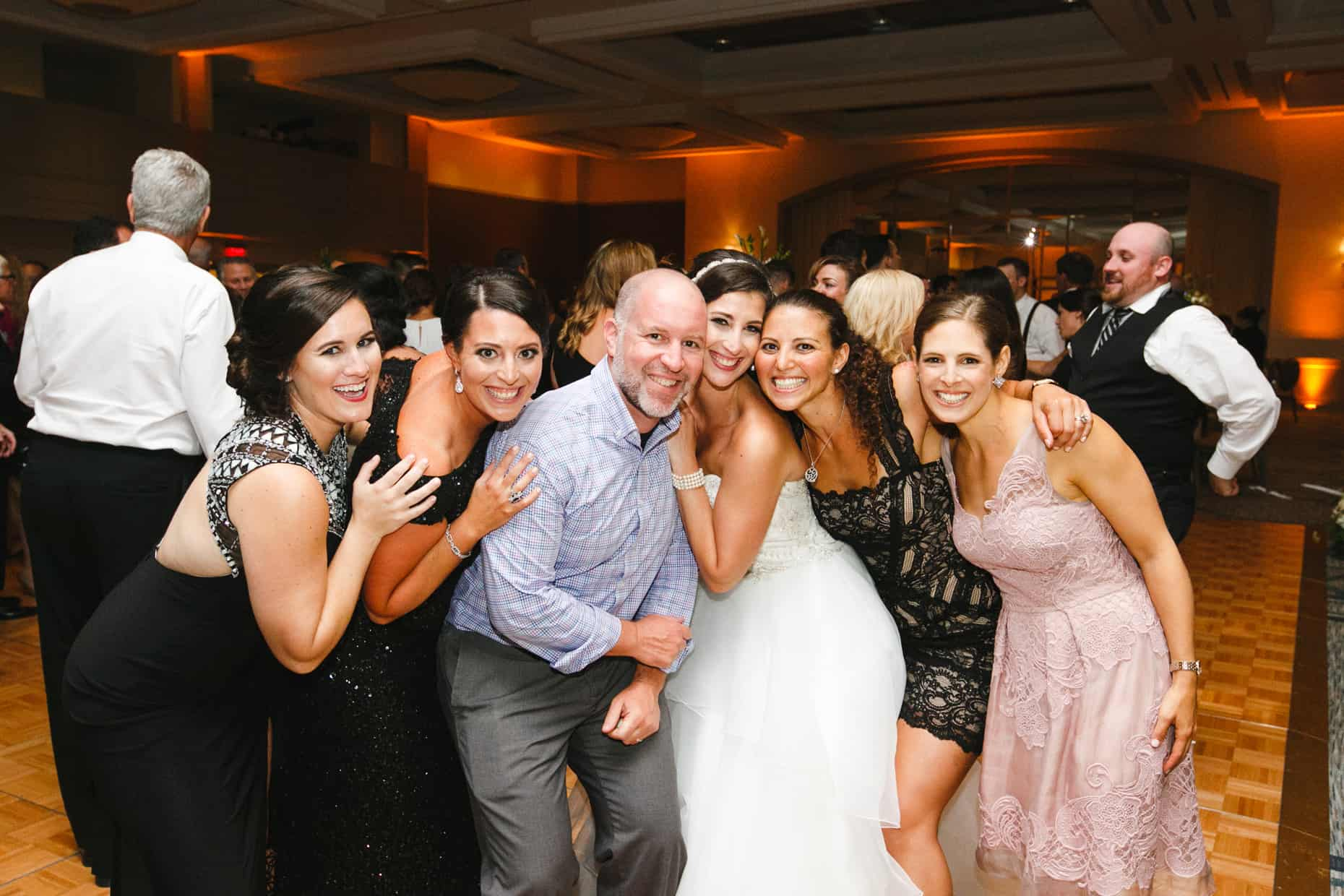 Wedding Picture Hilton Penn's Landing