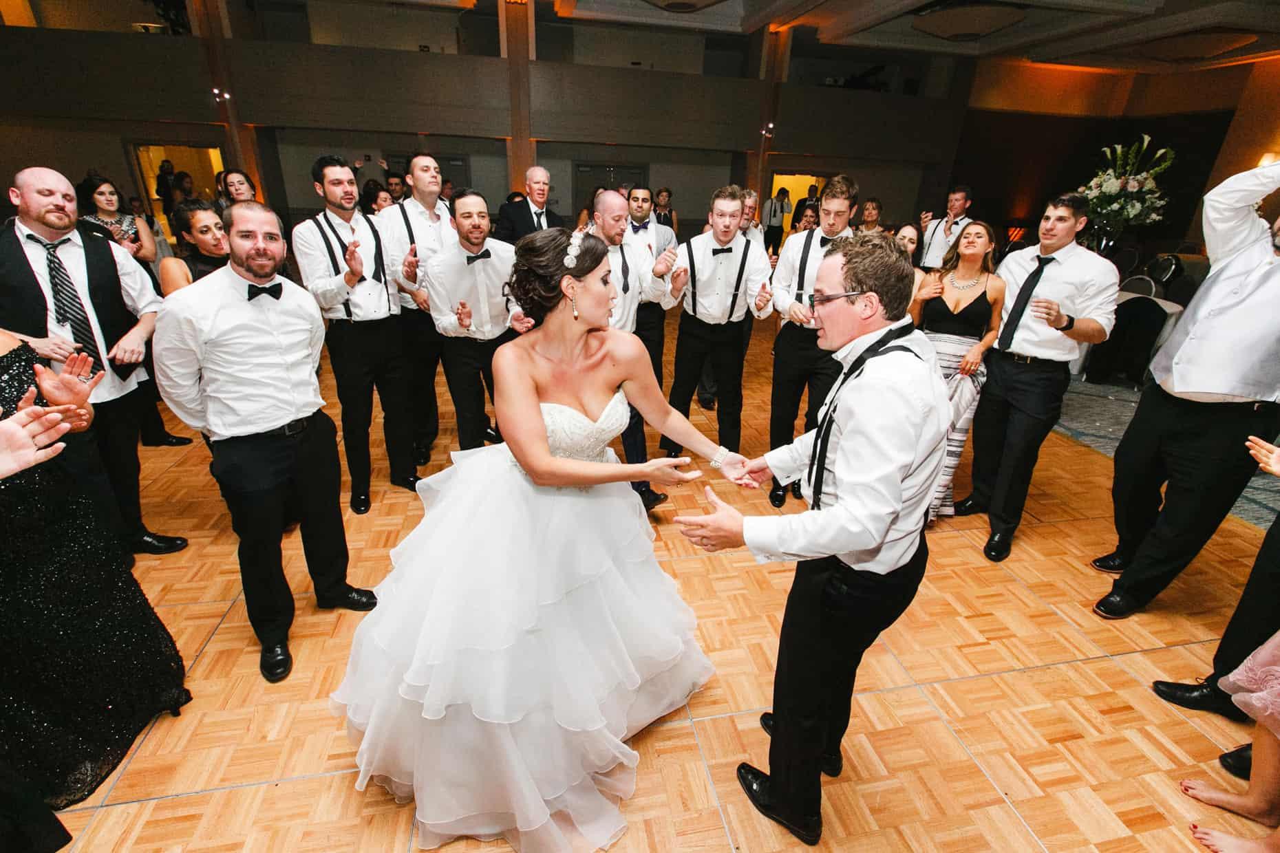 Center City Philadelphia Wedding Reception