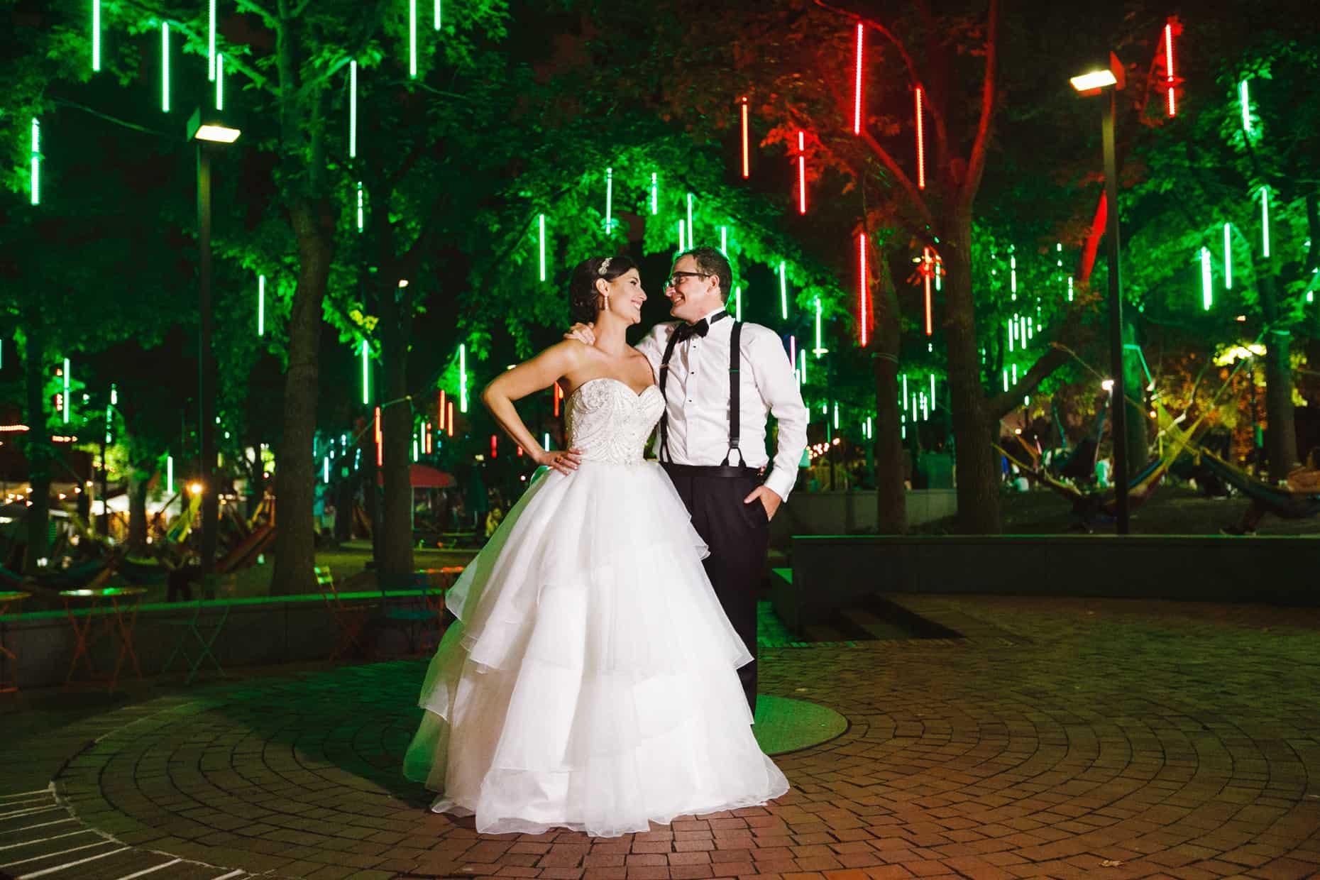 Spruce Street Harbor Wedding