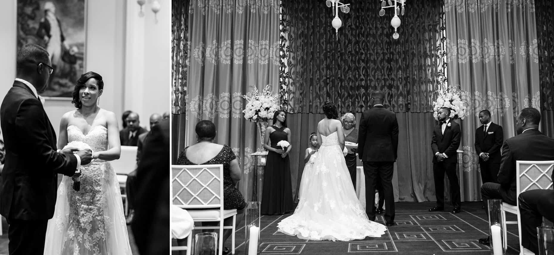 Wedding Ceremony Hotel Monaco