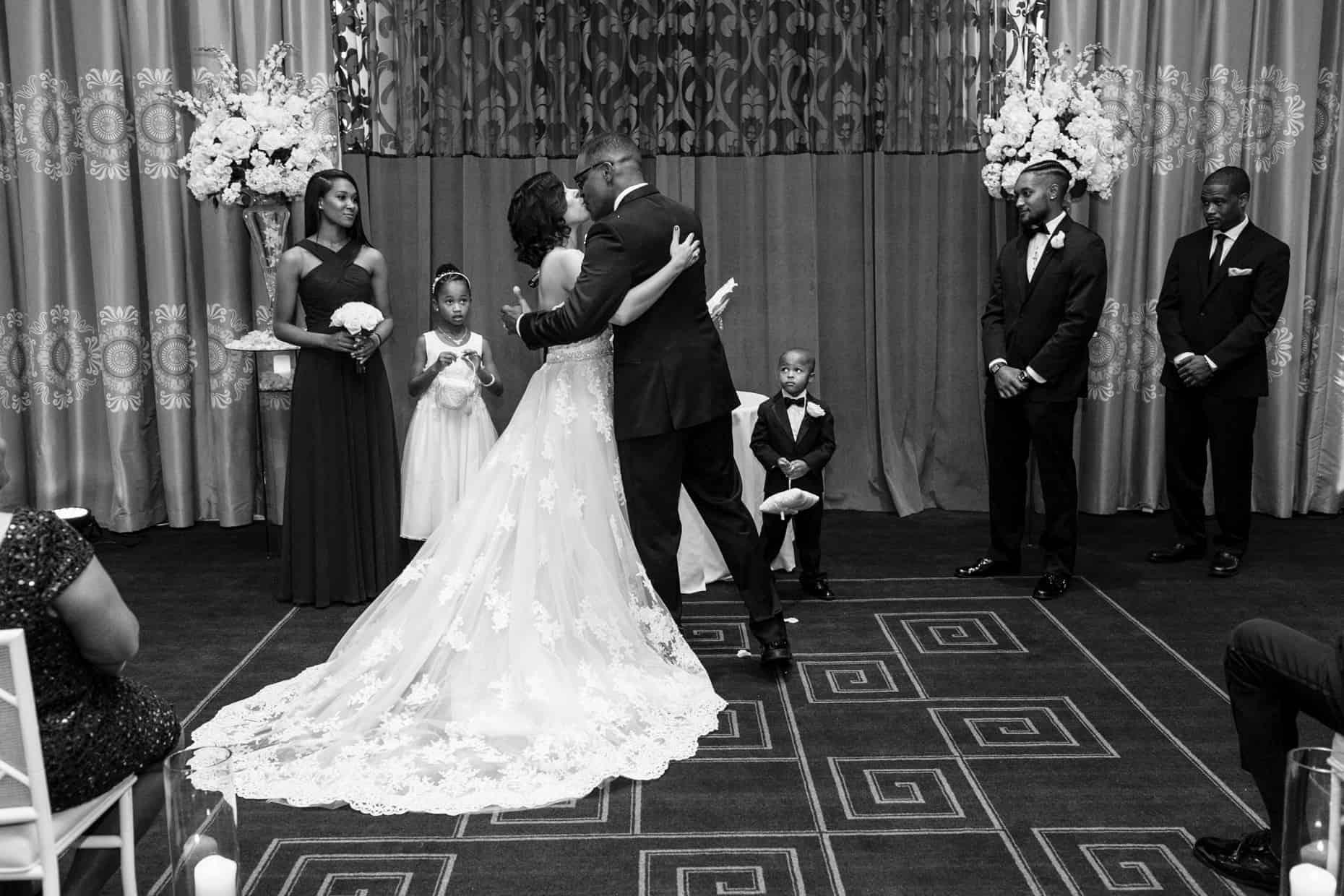 Wedding Photo Hotel Monaco