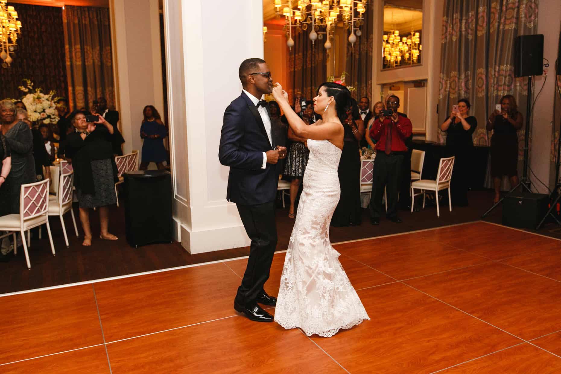 Lafayette South Ballroom Wedding Photos