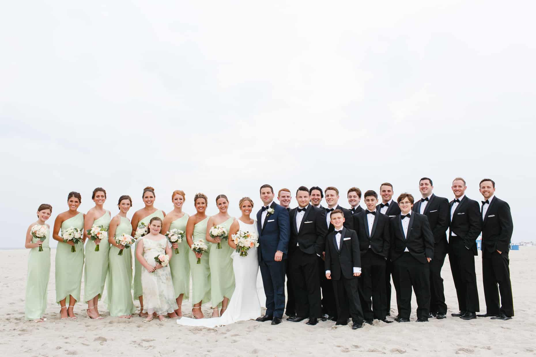 New Jersey Beach wedding photos