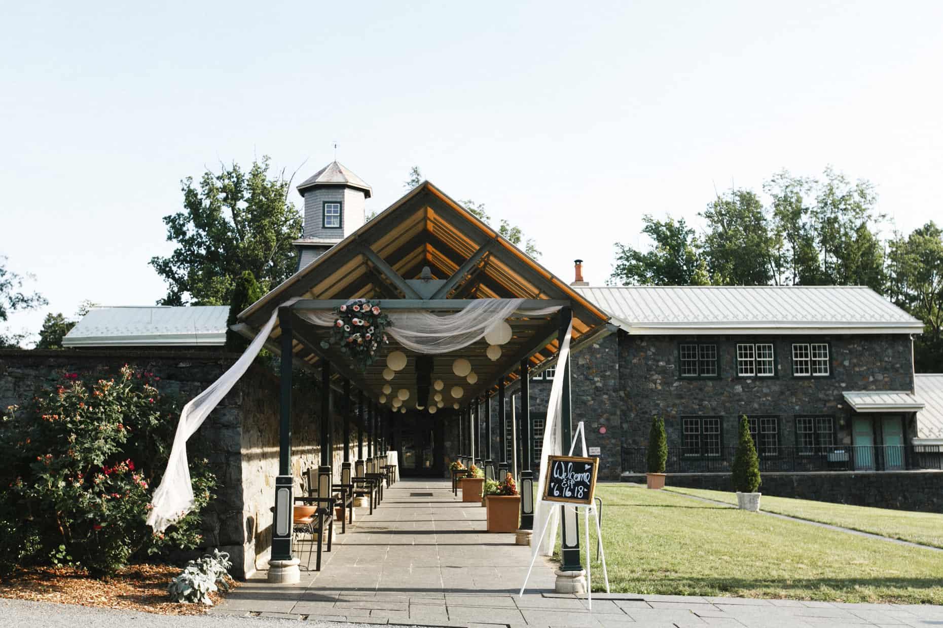 Rockwood Park Carriage House Wedding