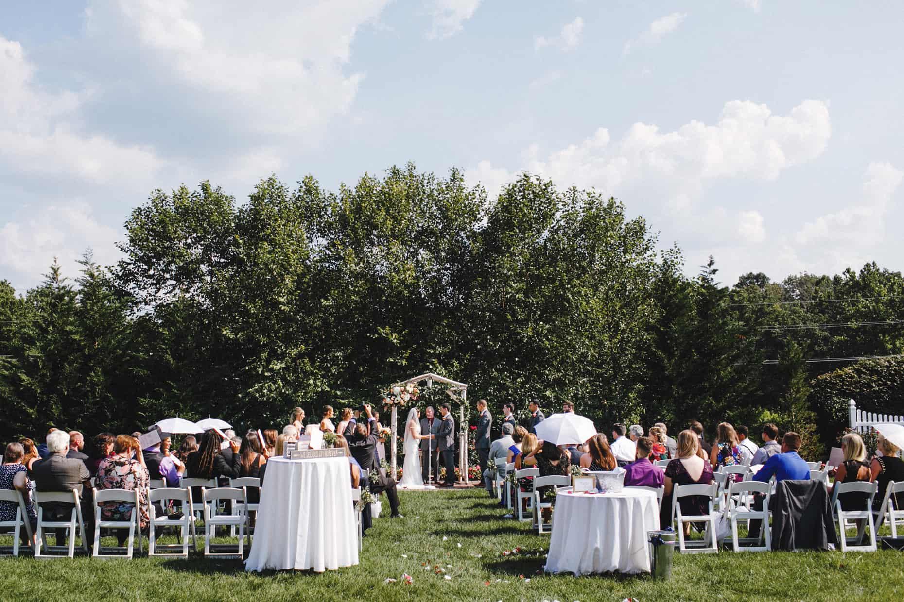 Robert Ryan Barn on Bridge Wedding