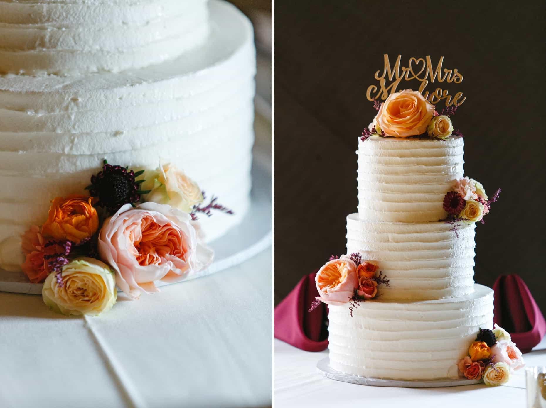The Masters Baker wedding cake