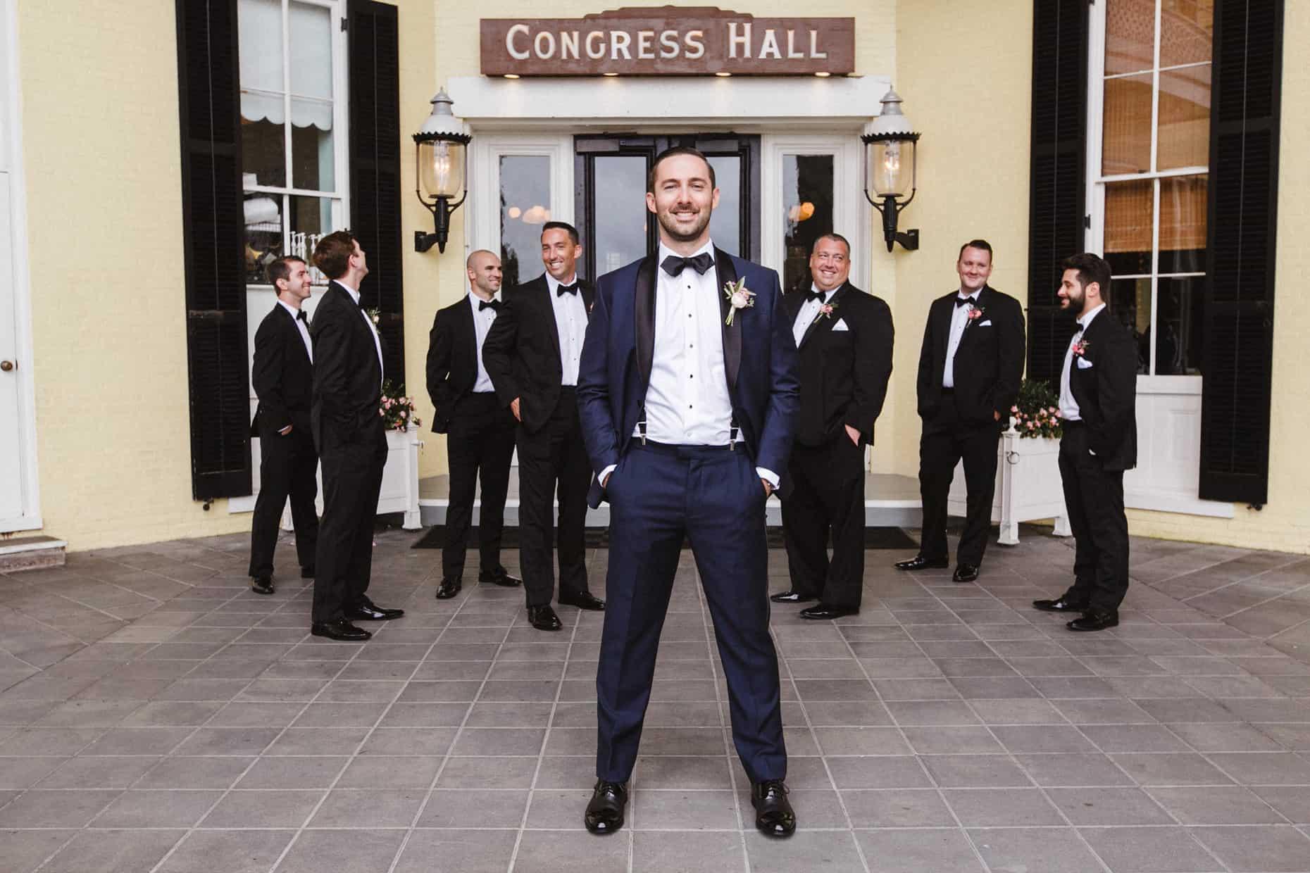 Wedding Photograph Congress Hall Cape May