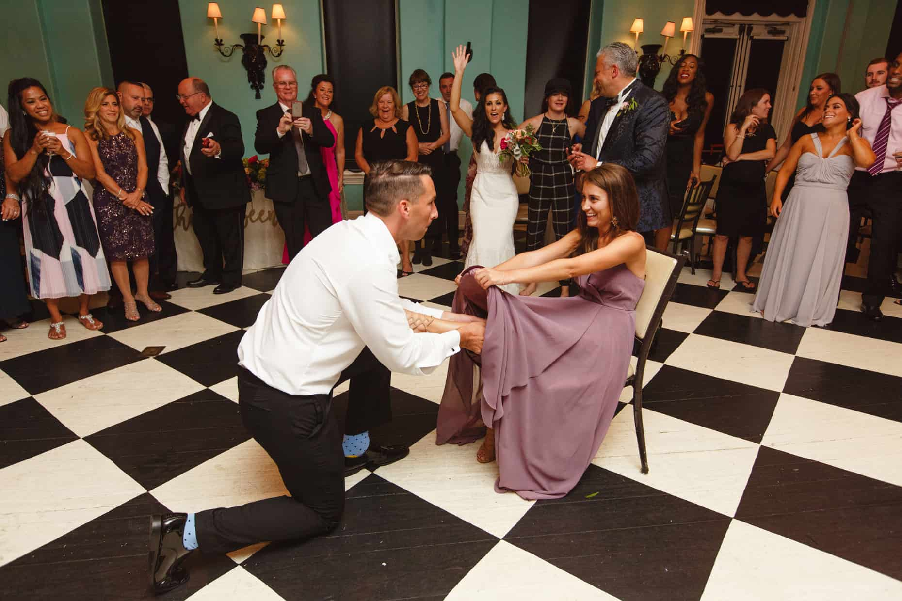 Jersey Shore Wedding Photograph