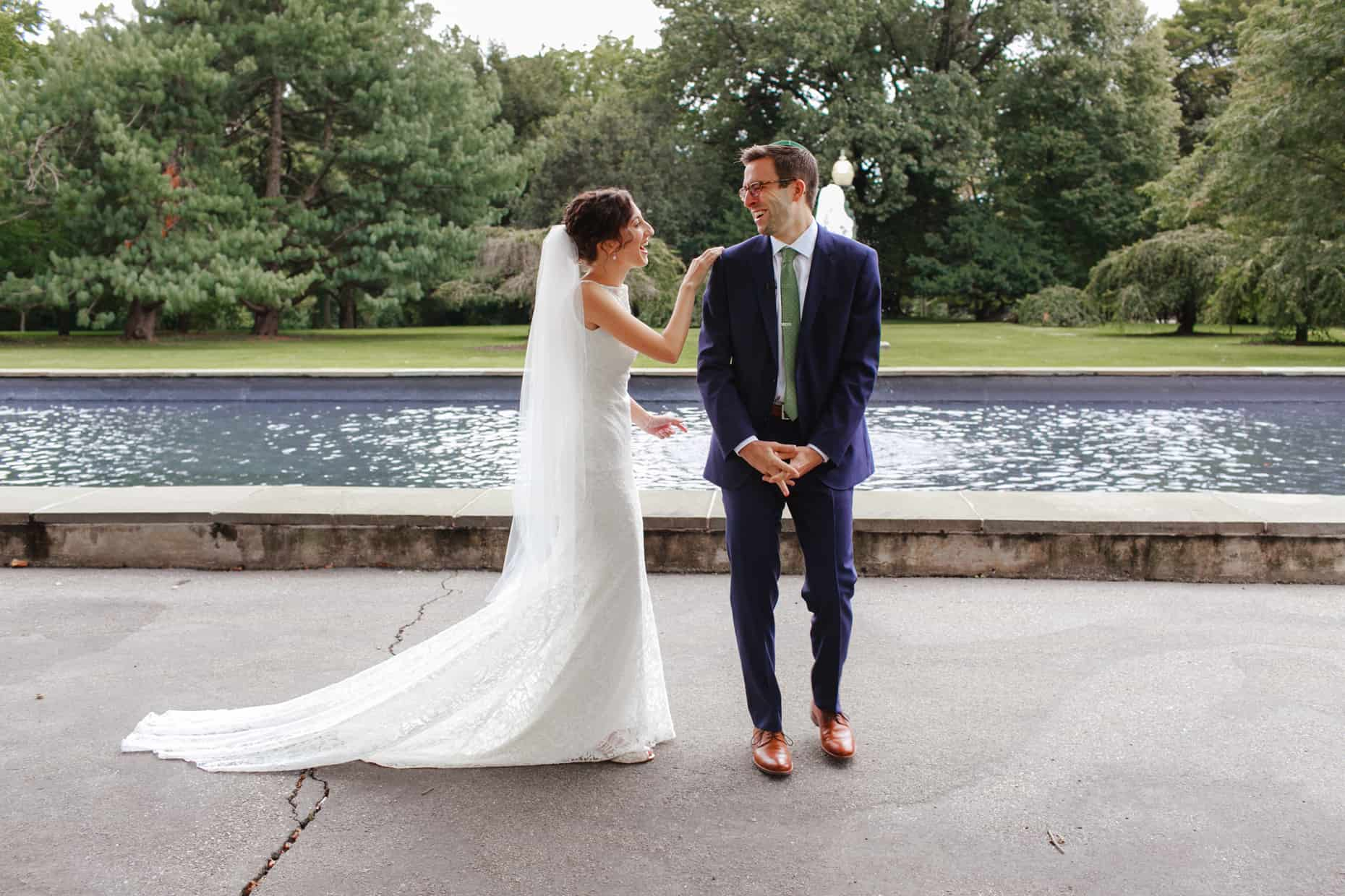 Wedding Photo Fairmount Park
