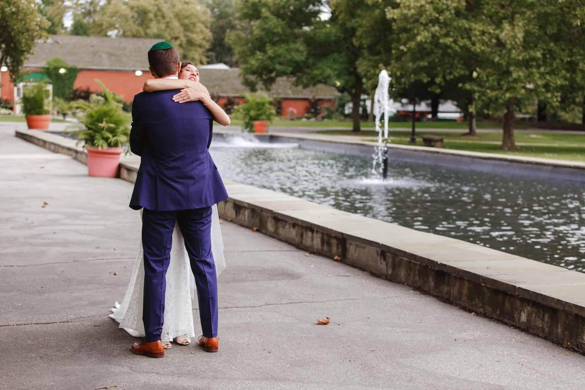Wedding Photograph Fairmount Park