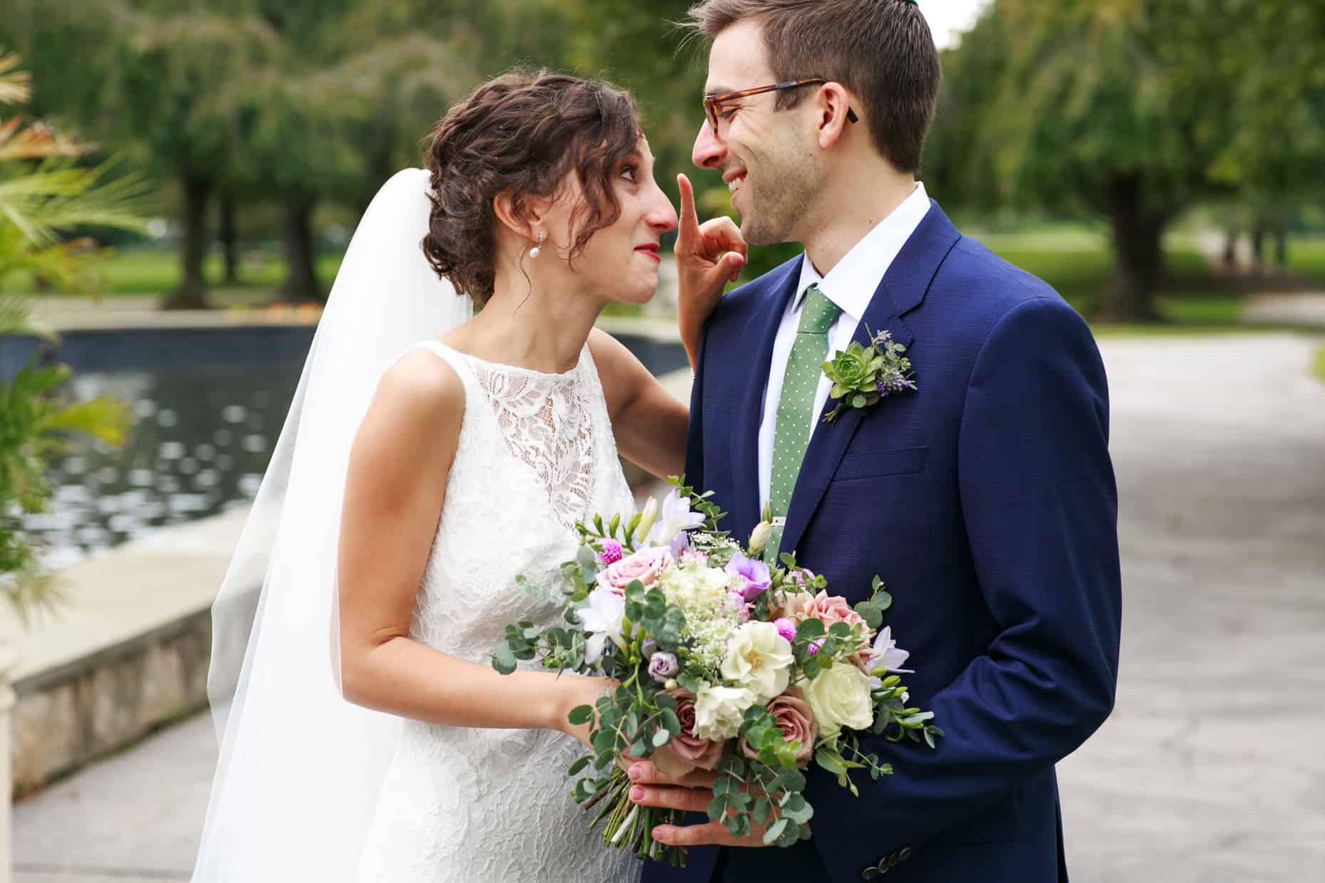 Wedding Picture Fairmount Park