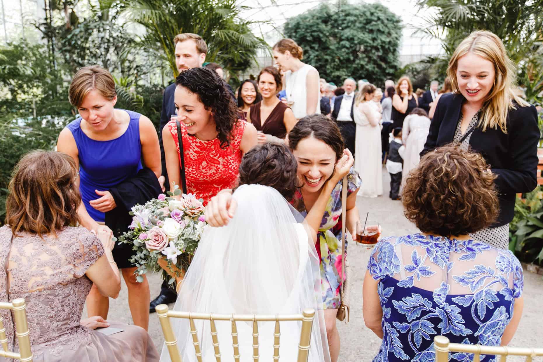 Wedding Reception Fairmount Park Horticultural Center
