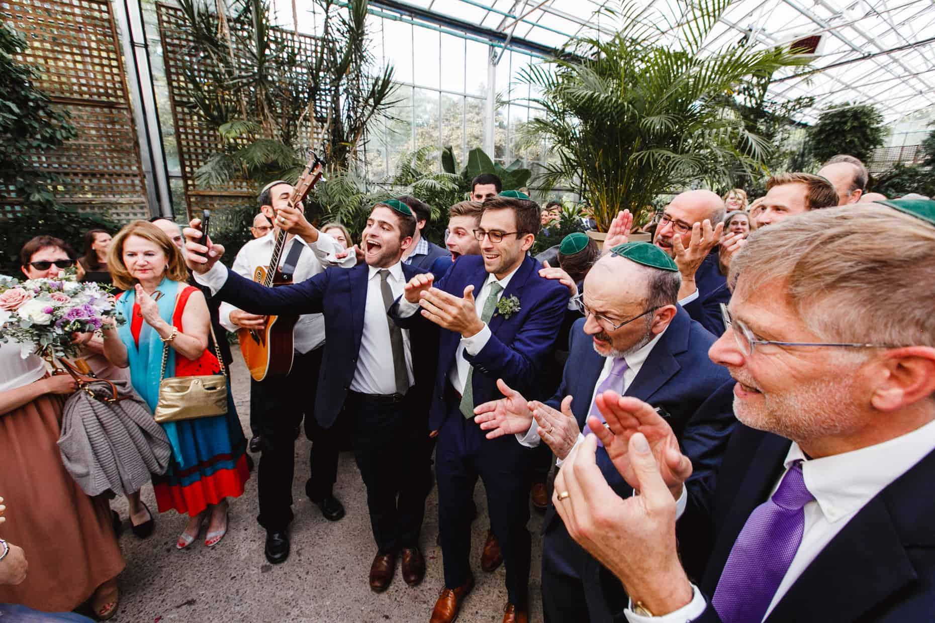 Horticultural Center Wedding Photograph