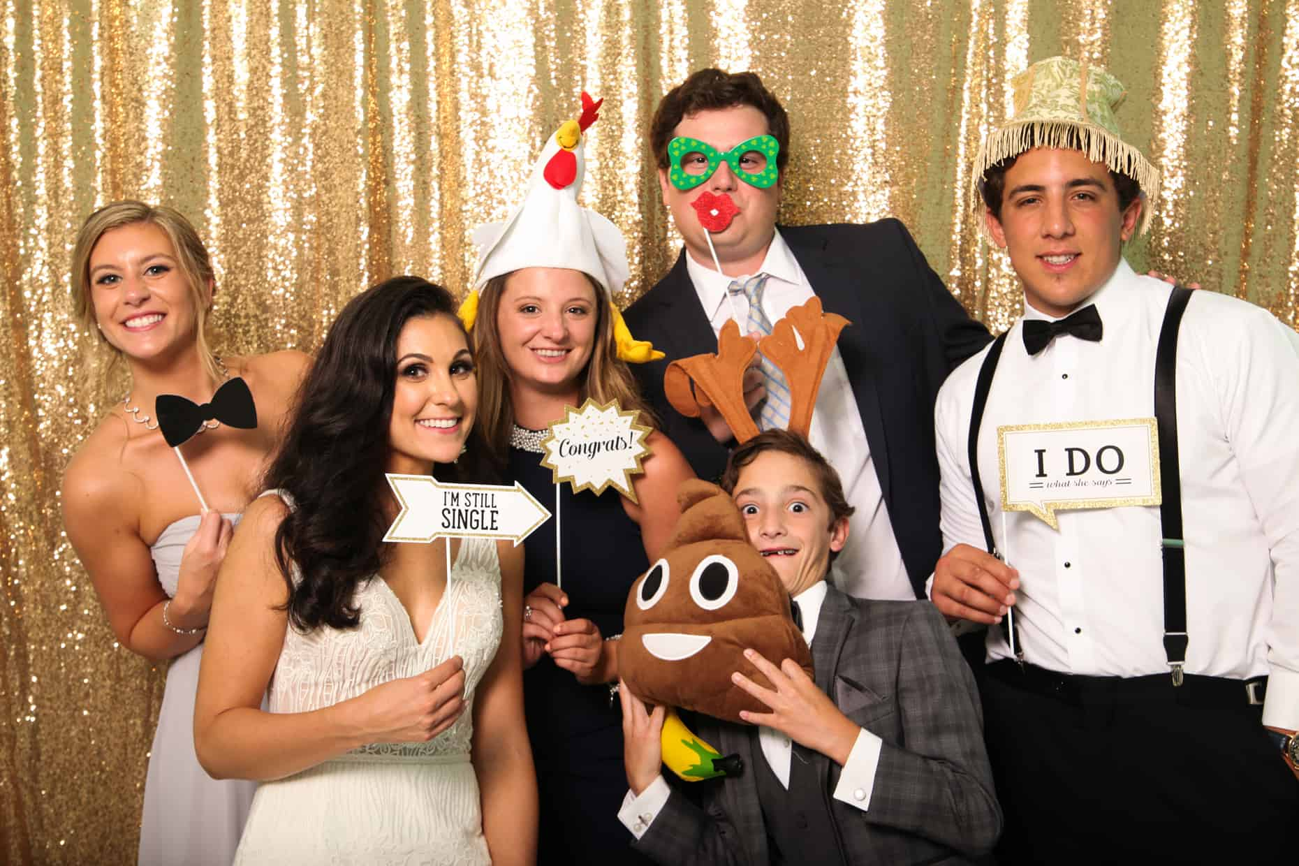 Congress Hall Cape May Wedding Photo Booth Photo