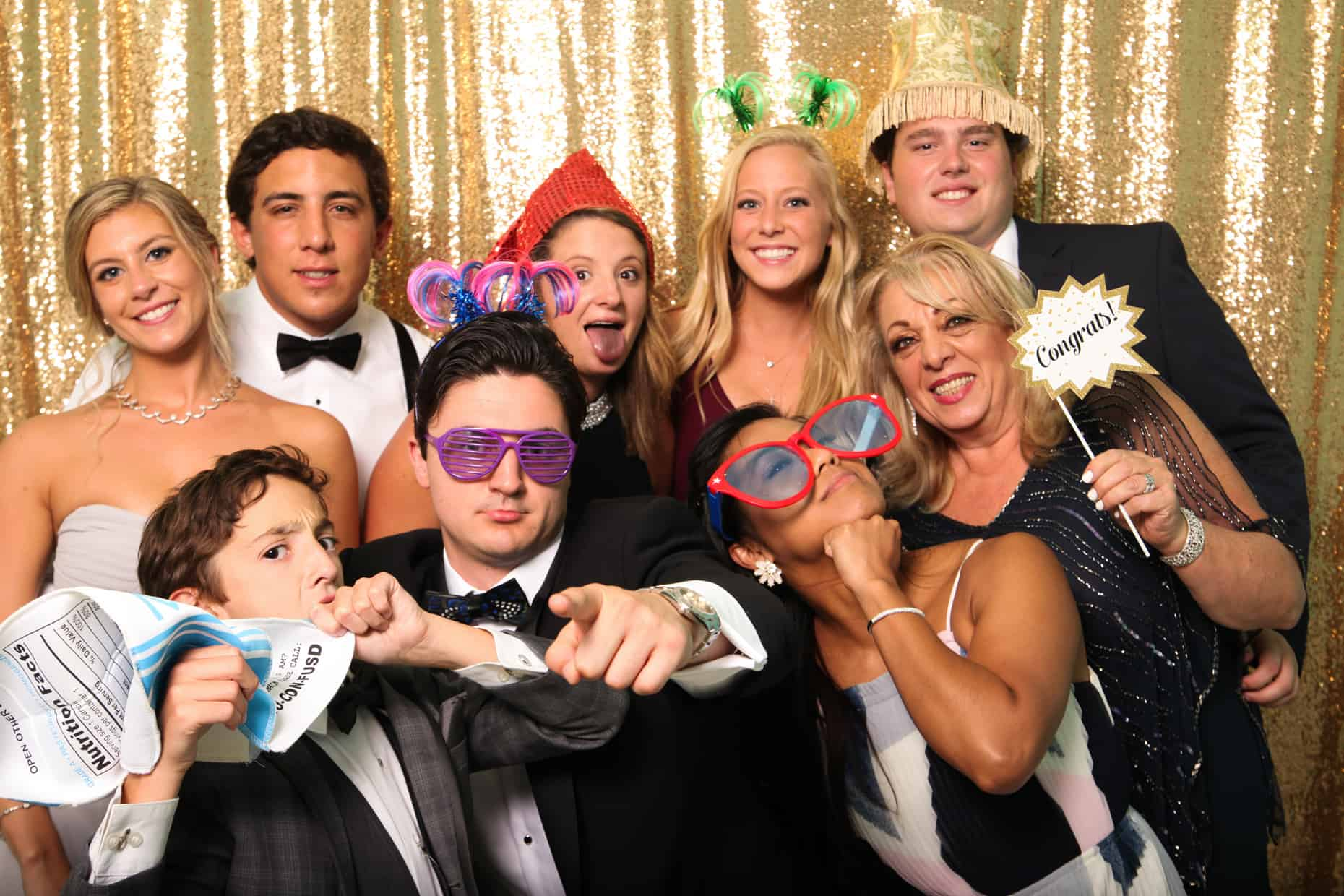 Congress Hall Cape May Wedding Photo Booth Photography