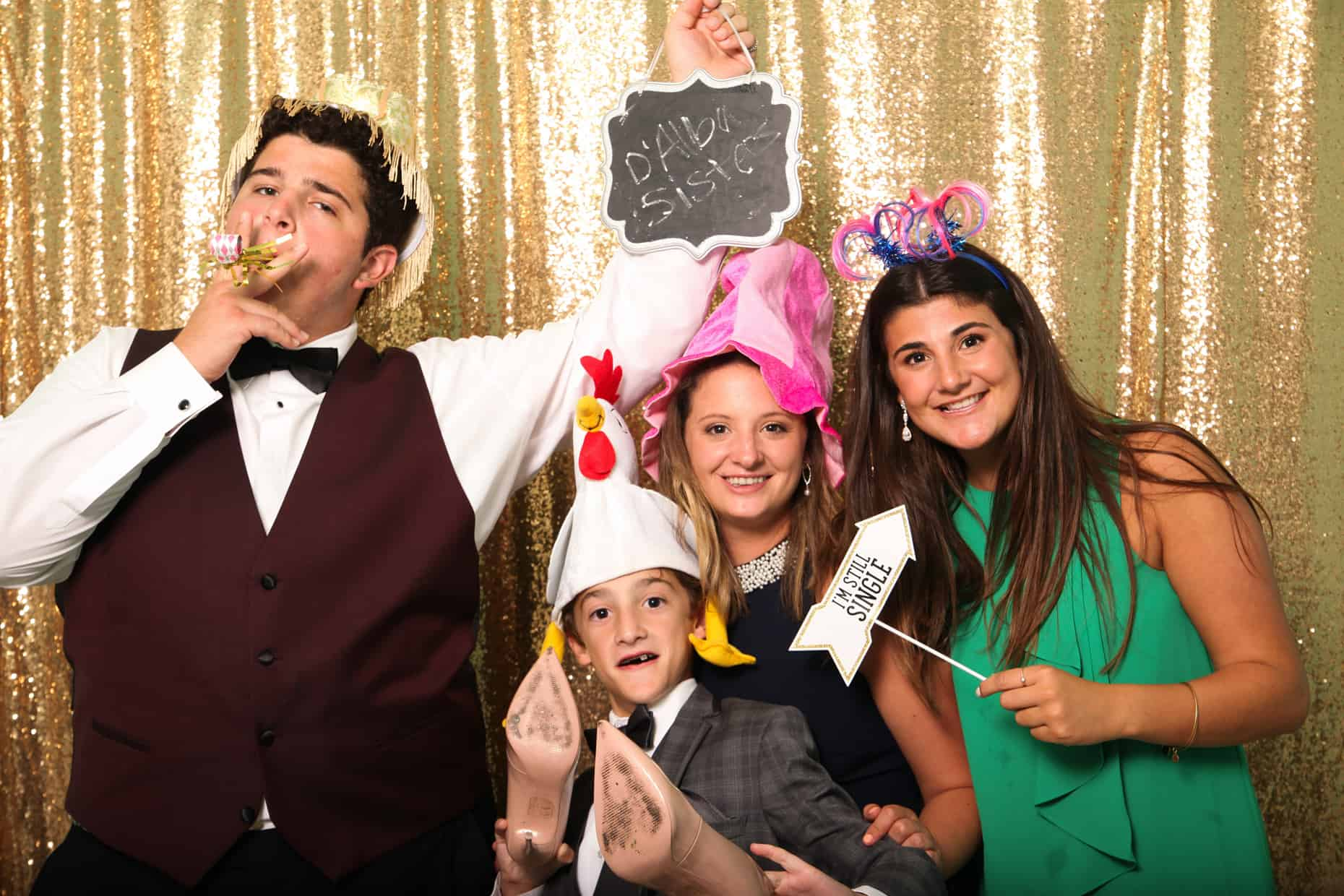 Congress Hall Cape May Wedding Photo Booth Photographer