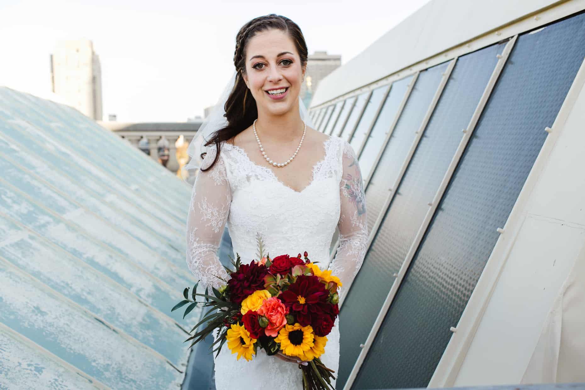 Franklin Institute Bride