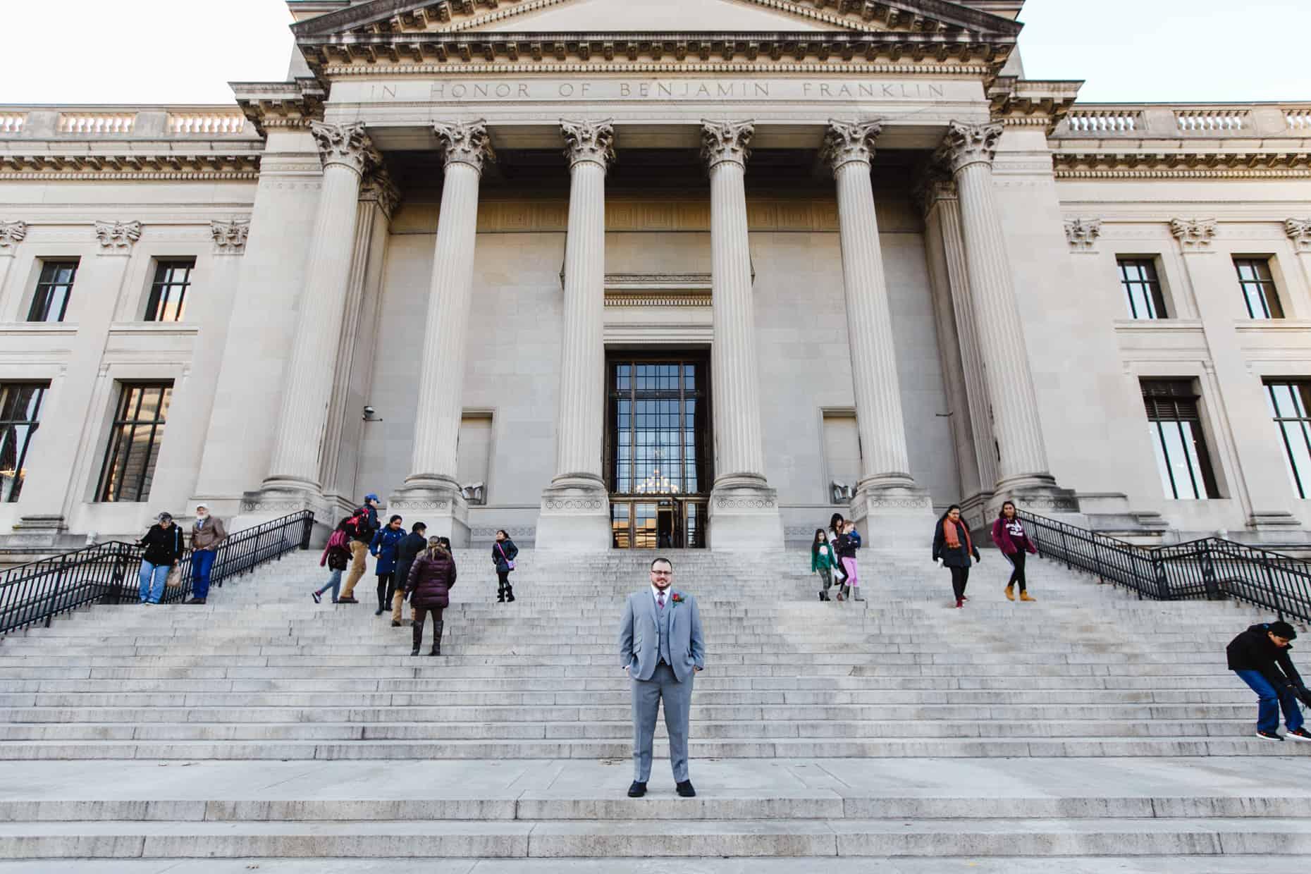 Franklin Institute Steps
