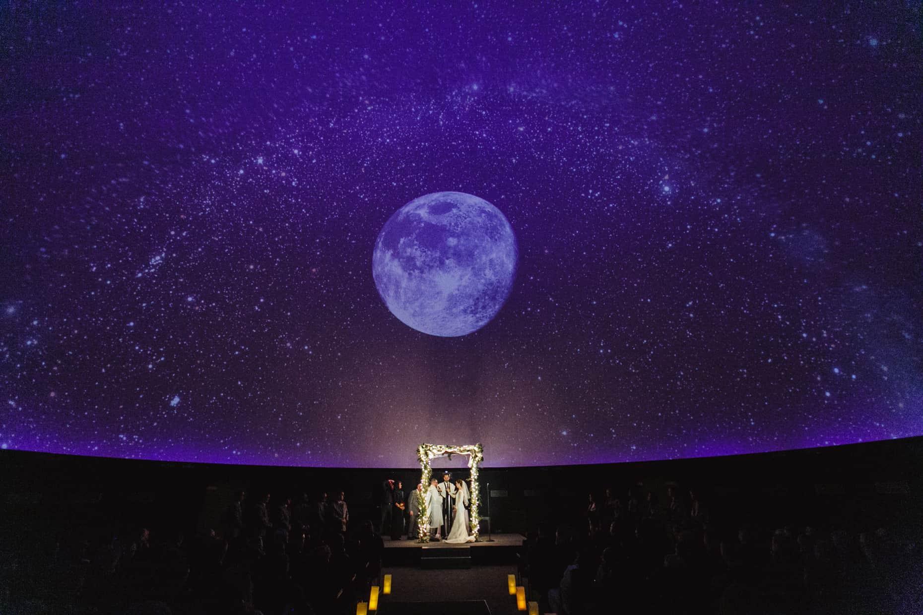 Planetarium Wedding Franklin Institute