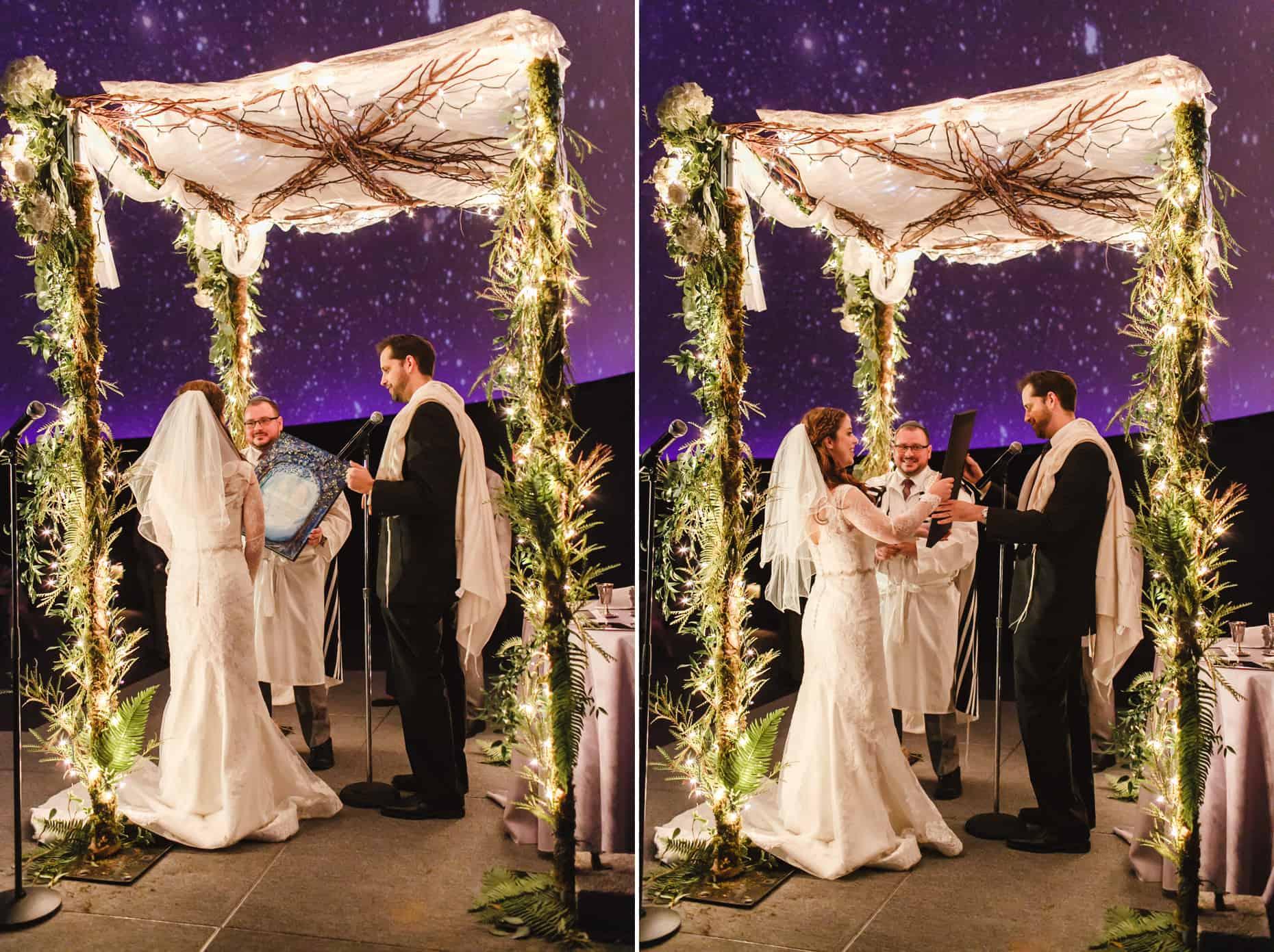 Franklin Institute Planetarium Weddings