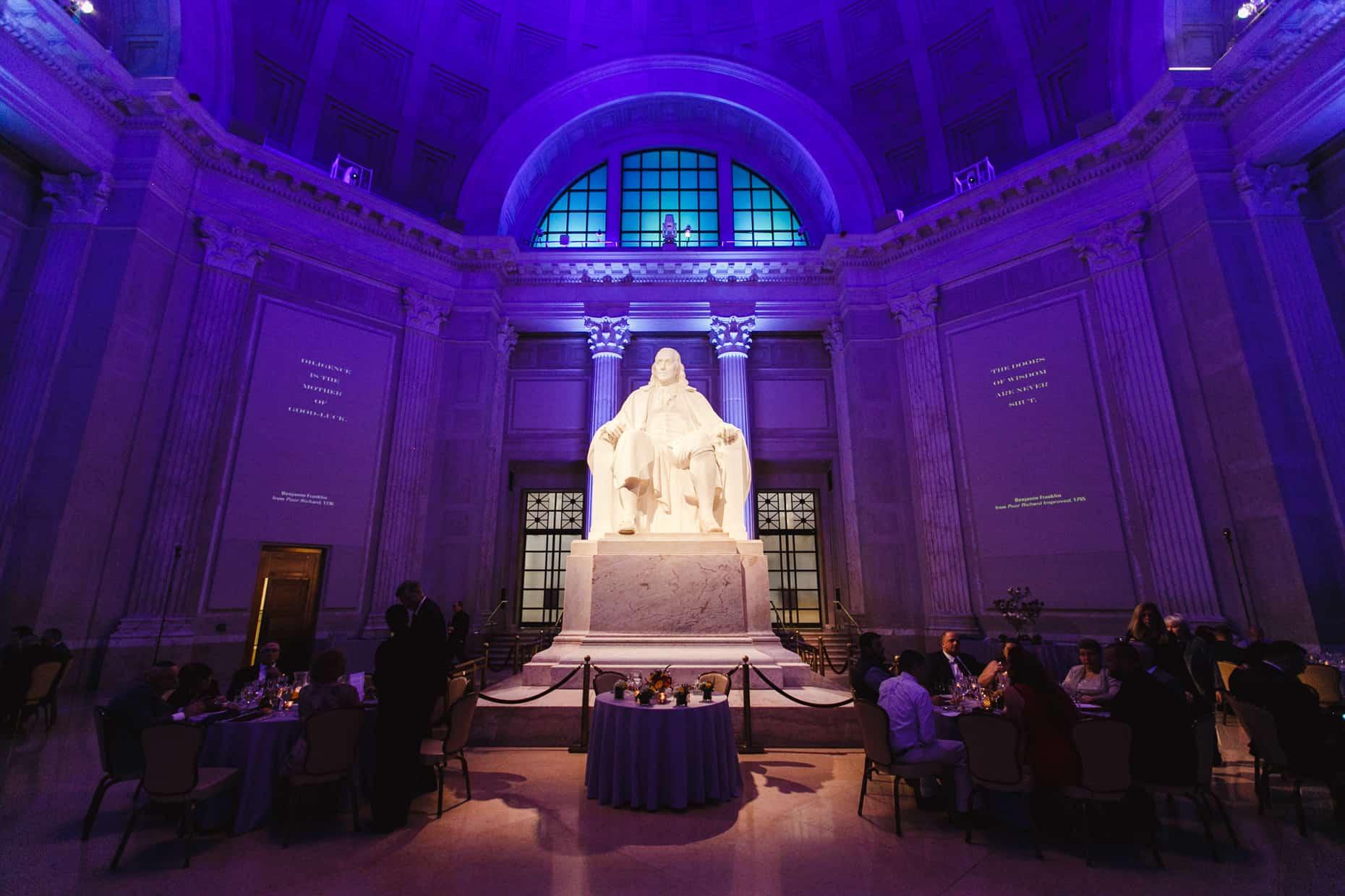 Wedding Reception Franklin Institute