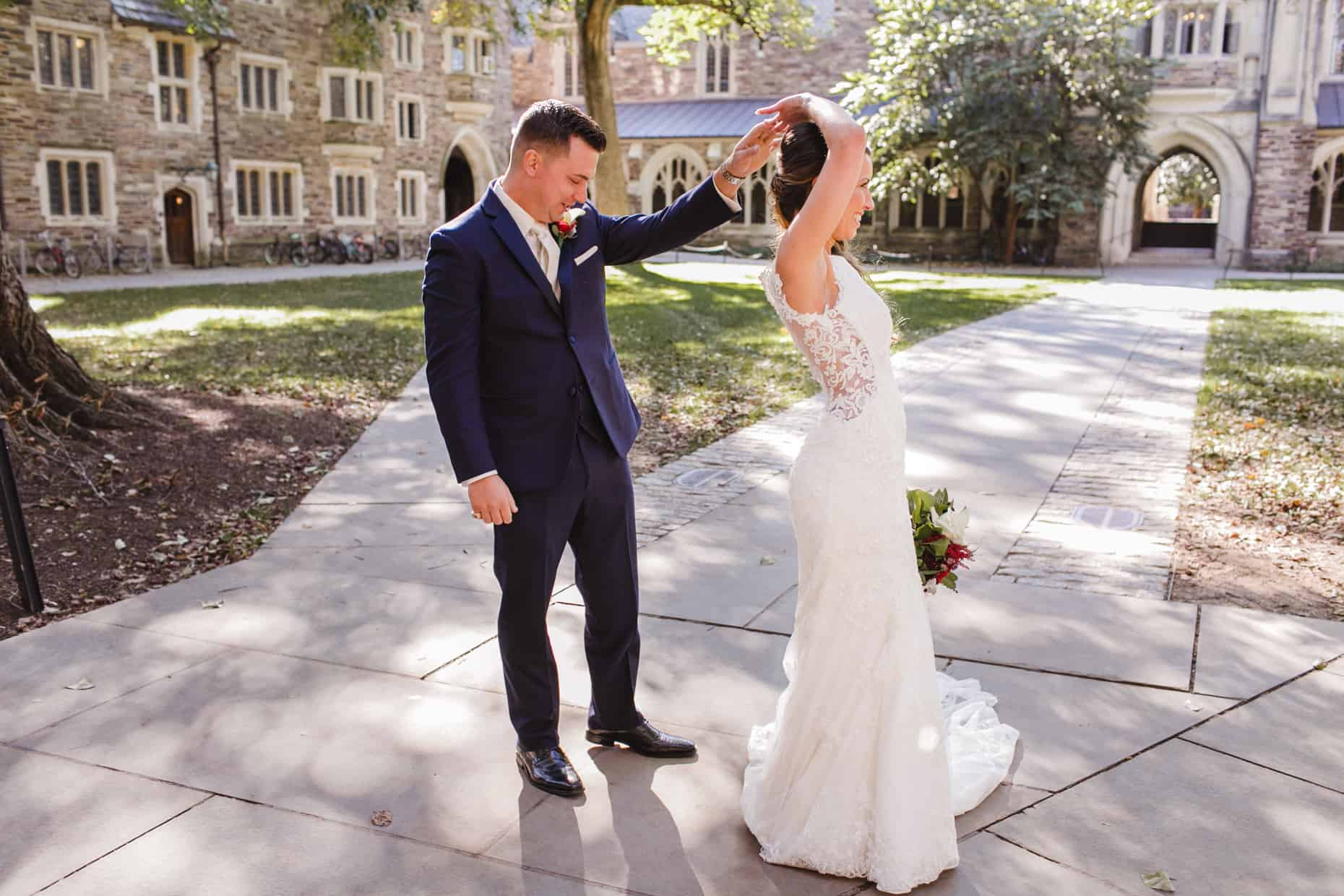 New Jersey Wedding Reception