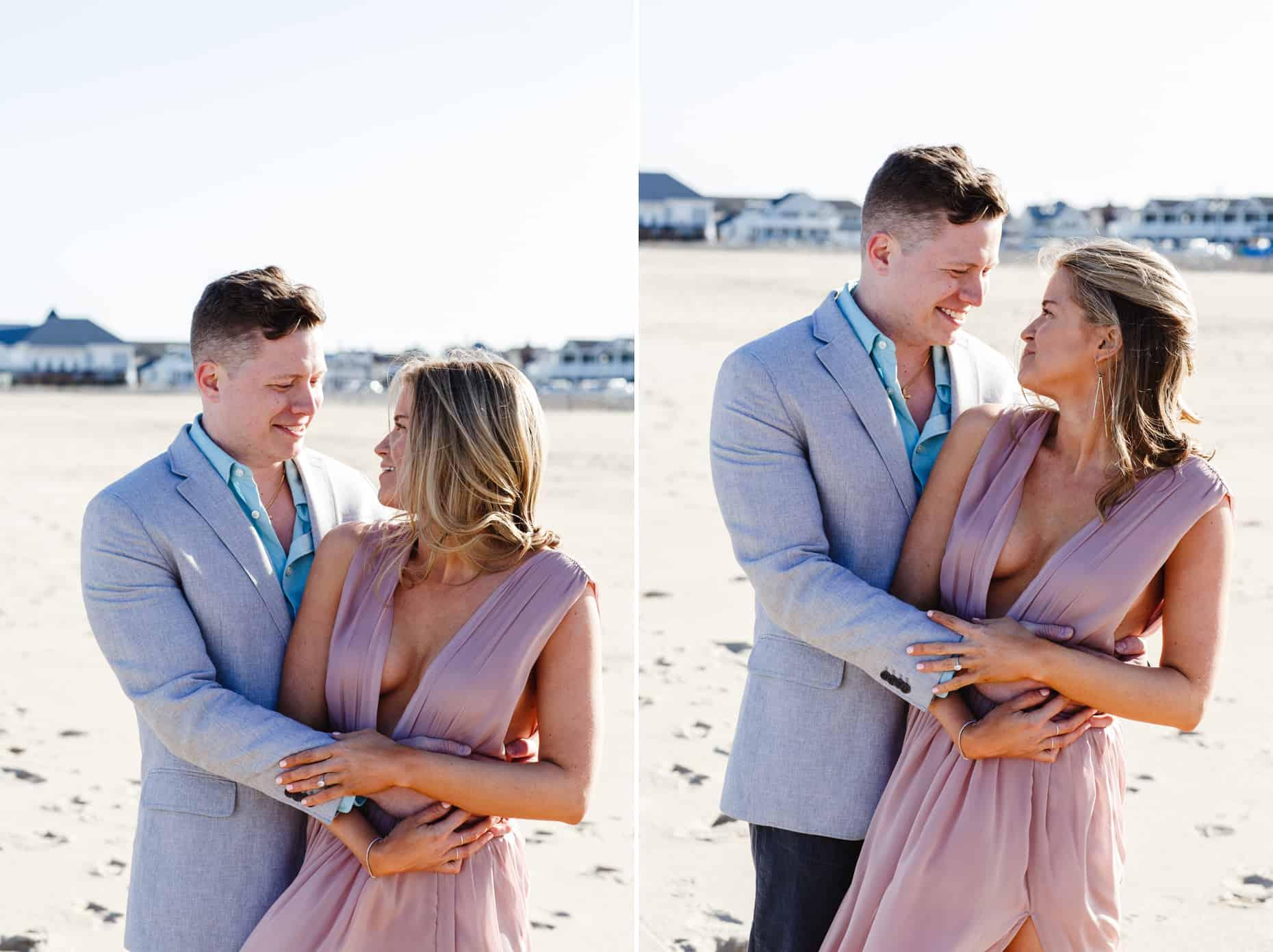 BEach Engagement Photos New Jersey