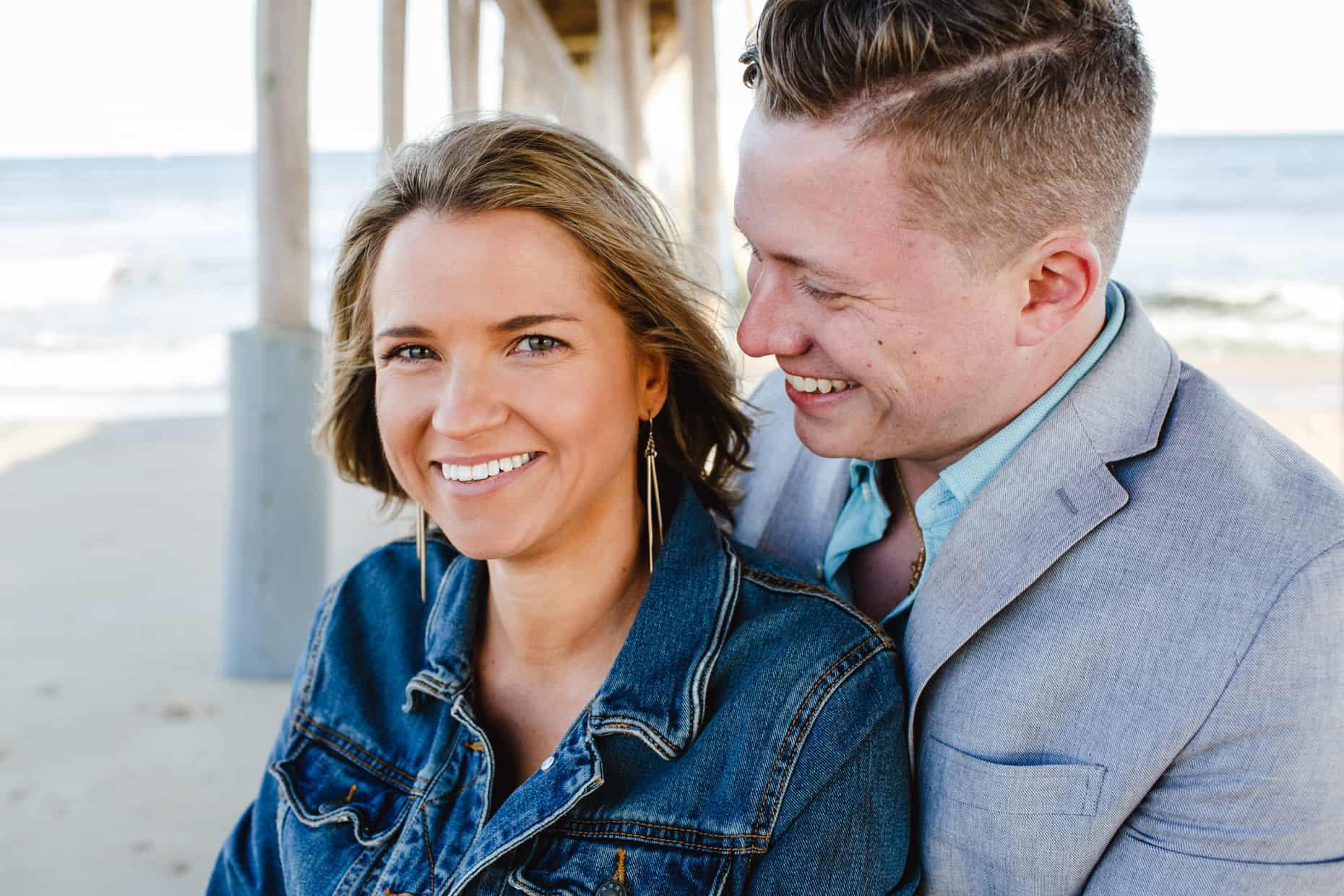 Belmar BEach Engagement Pictures