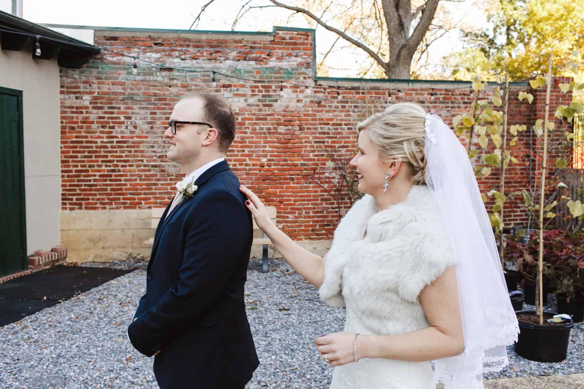 Delaware Center for Horticulture Wedding Photo