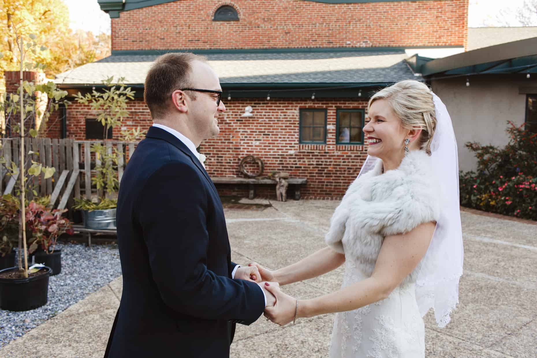 Delaware Center for Horticulture Wedding Photograph