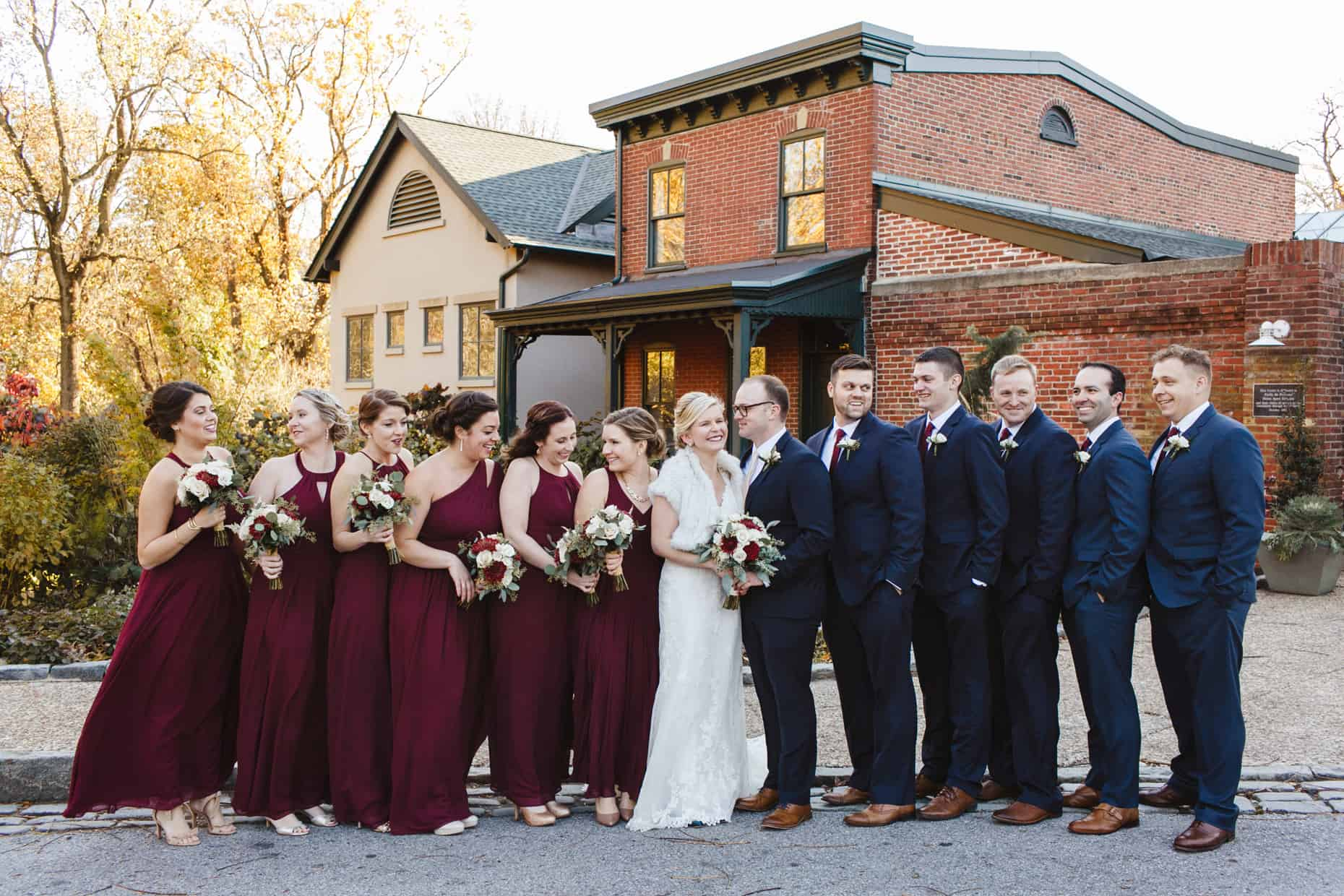 Wedding Photo Delaware Center for Horticulture