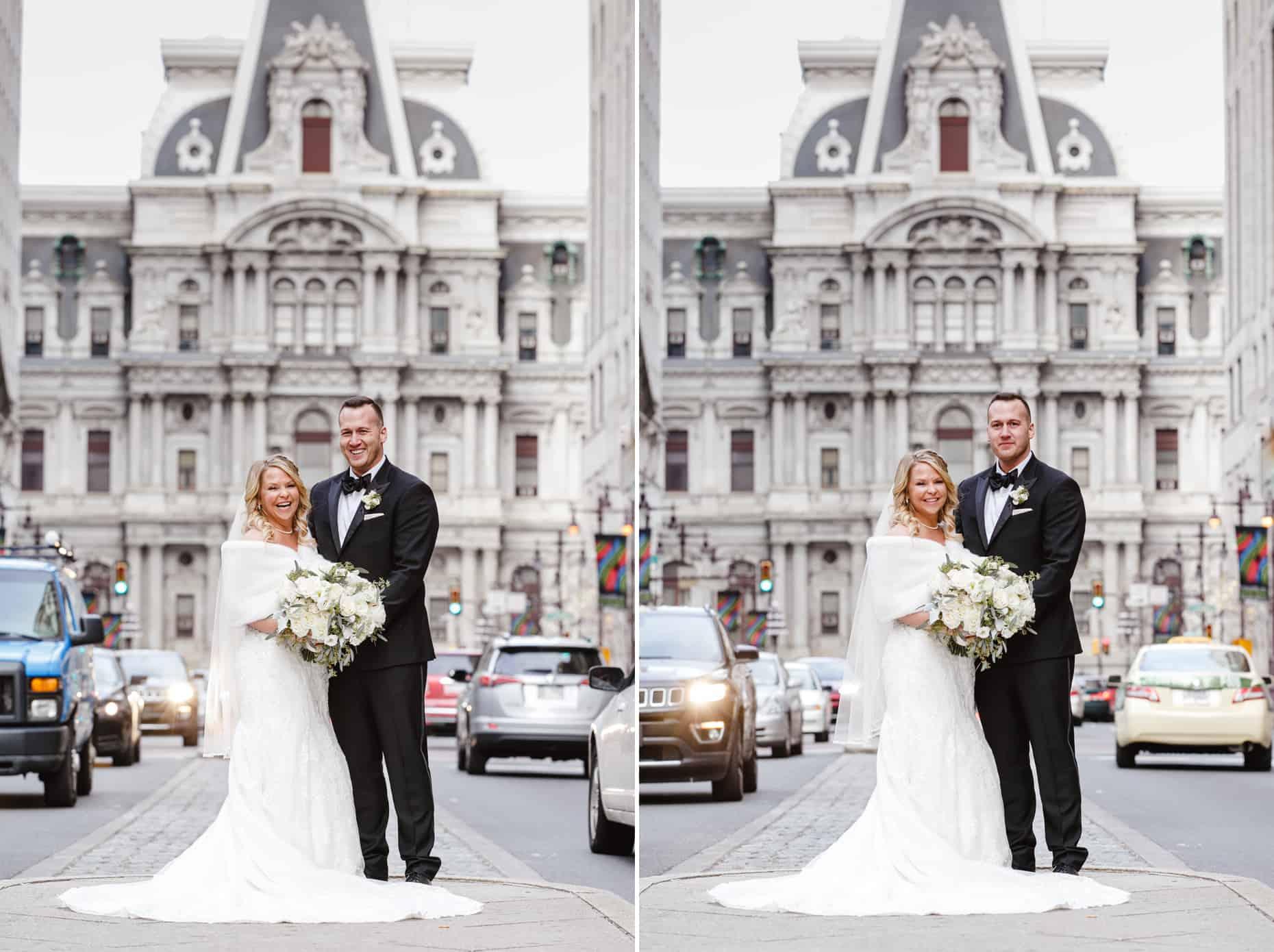Broad Street Philadelphia Wedding